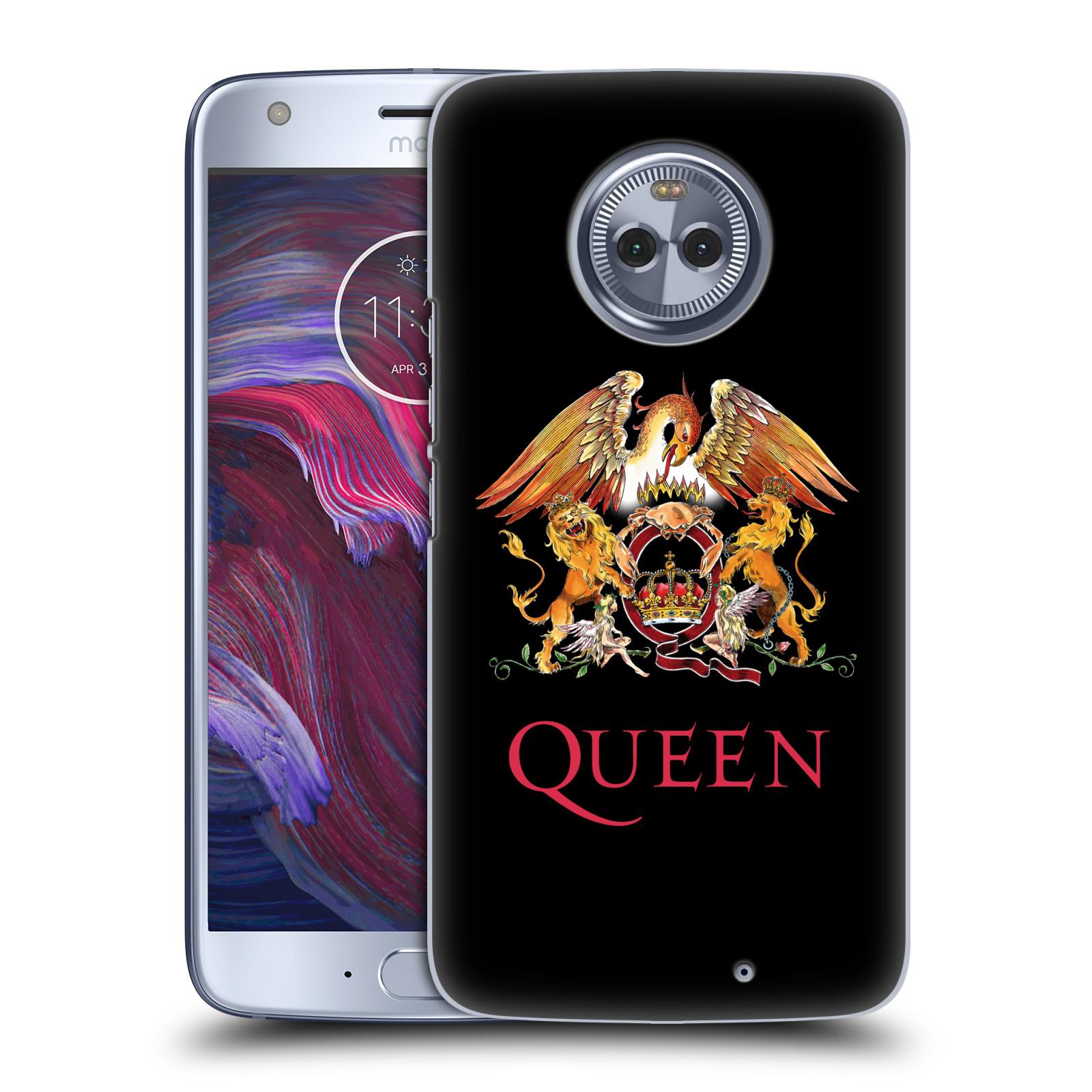 Plastové pouzdro na mobil Lenovo Moto X4 - Head Case - Queen - Logo