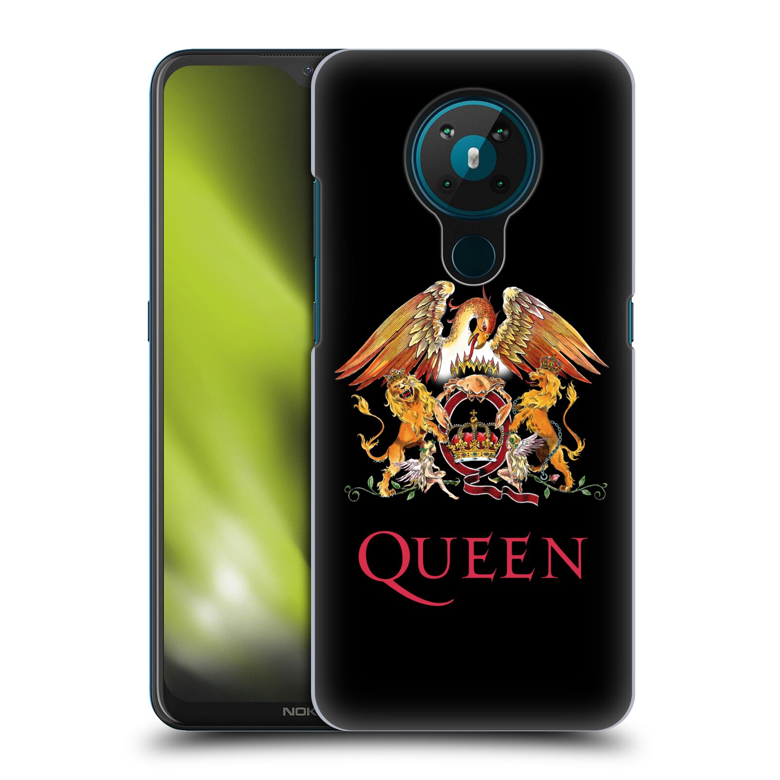 Plastové pouzdro na mobil Nokia 5.3 - Head Case - Queen - Logo