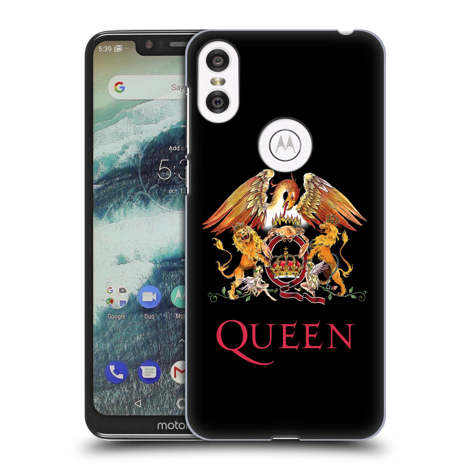 Plastové pouzdro na mobil Motorola One - Head Case - Queen - Logo