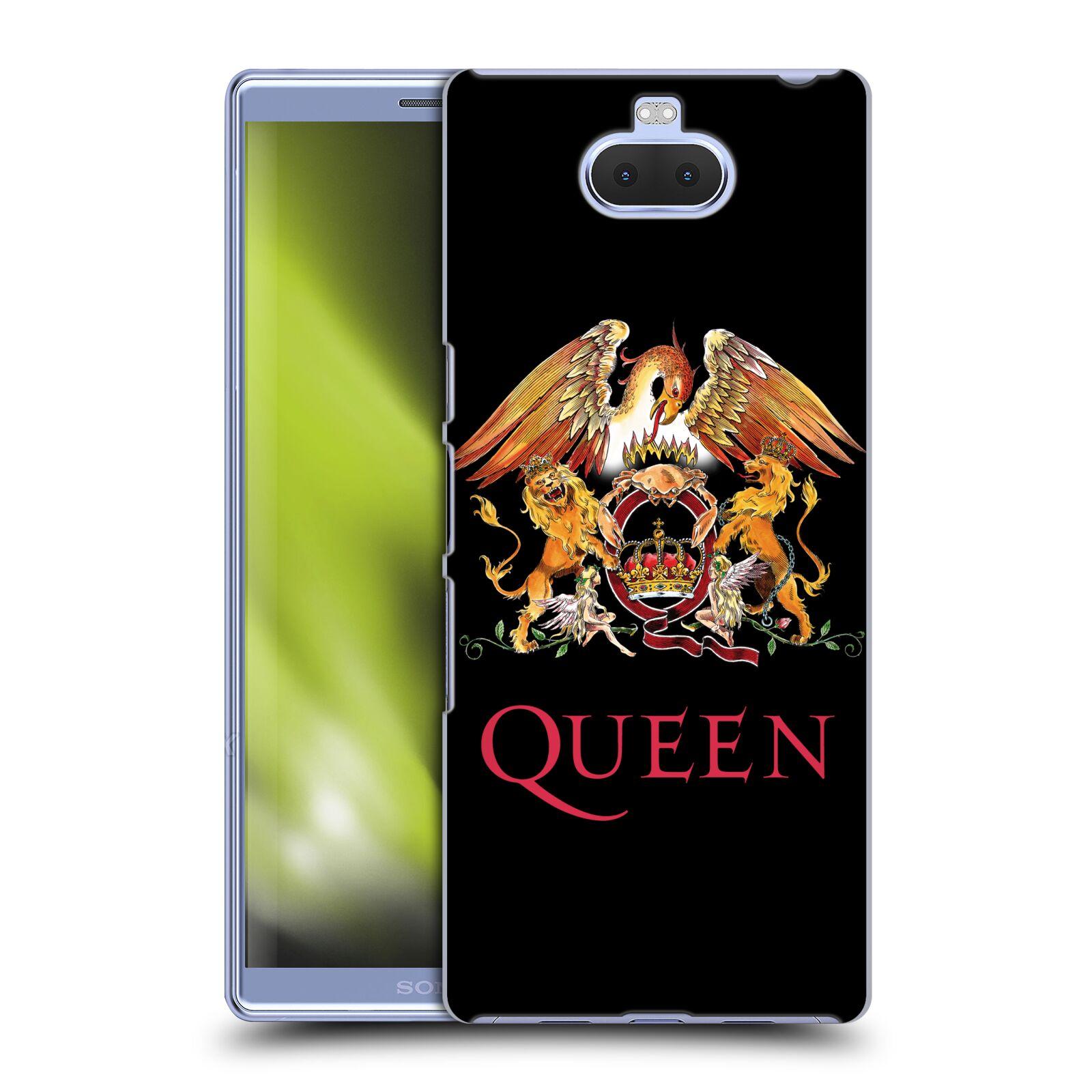 Plastové pouzdro na mobil Sony Xperia 10 Plus - Head Case - Queen - Logo