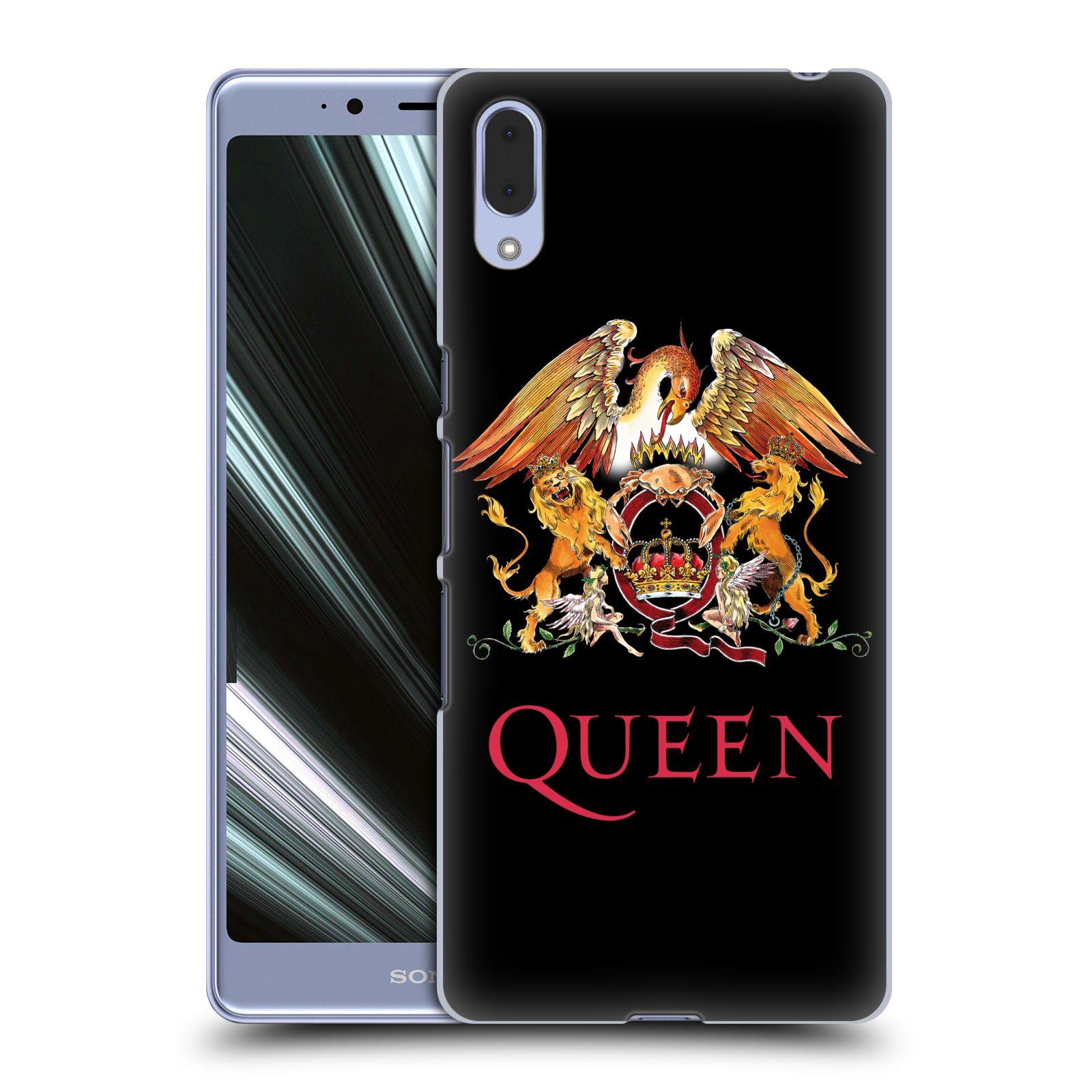 Plastové pouzdro na mobil Sony Xperia L3 - Head Case - Queen - Logo