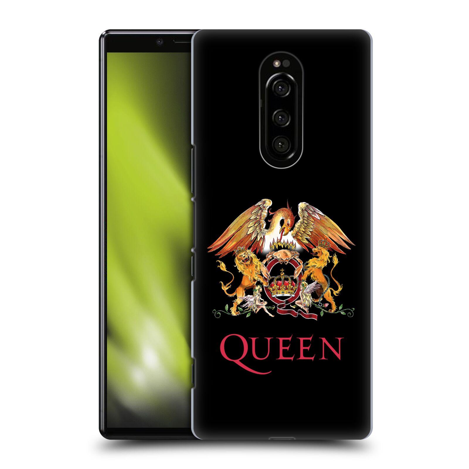 Plastové pouzdro na mobil Sony Xperia 1 - Head Case - Queen - Logo