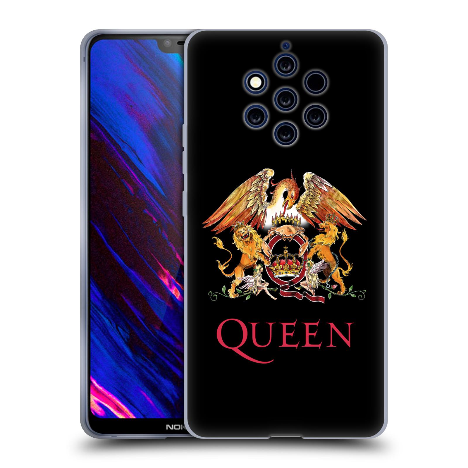 Silikonové pouzdro na mobil Nokia 9 PureView - Head Case - Queen - Logo