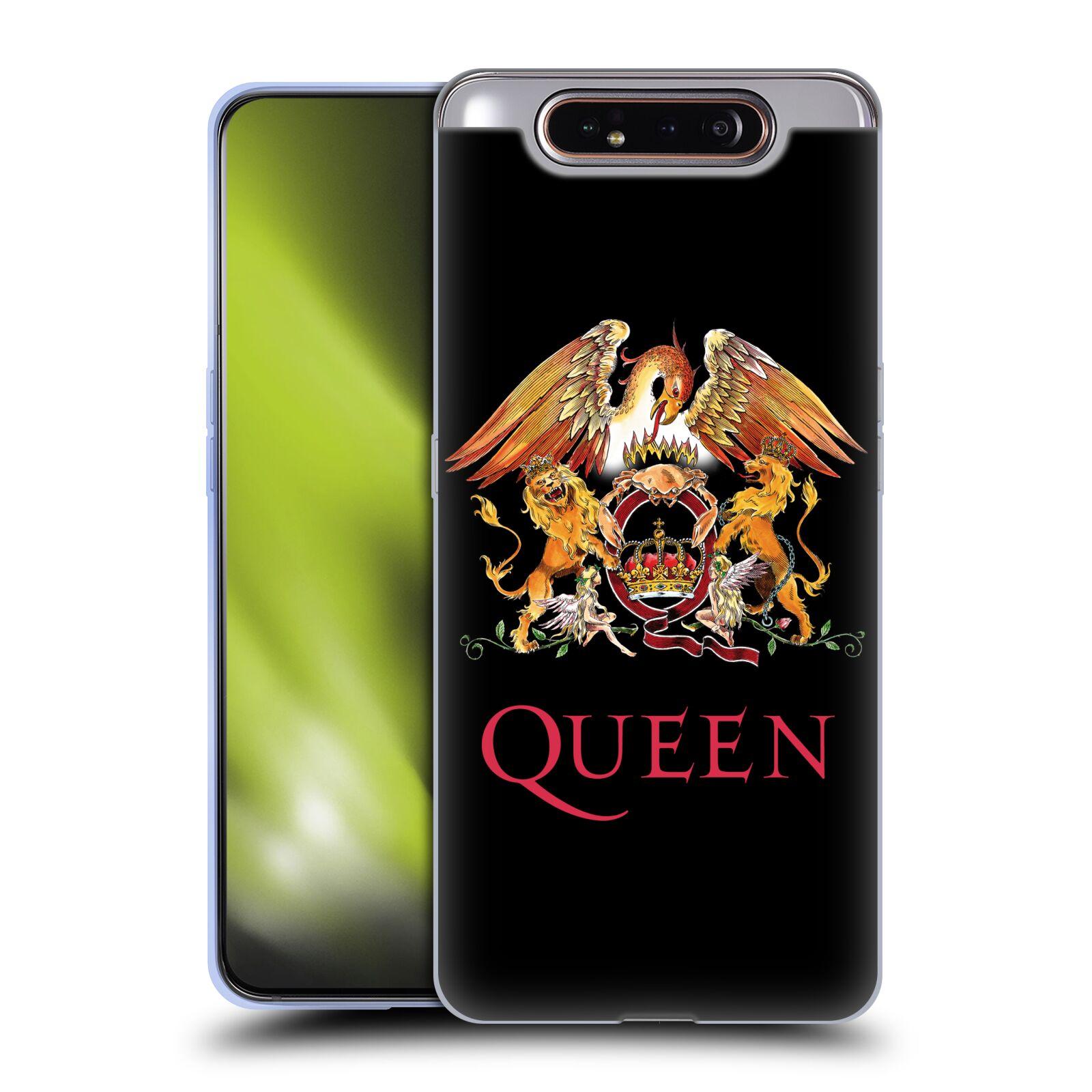 Silikonové pouzdro na mobil Samsung Galaxy A80 - Head Case - Queen - Logo