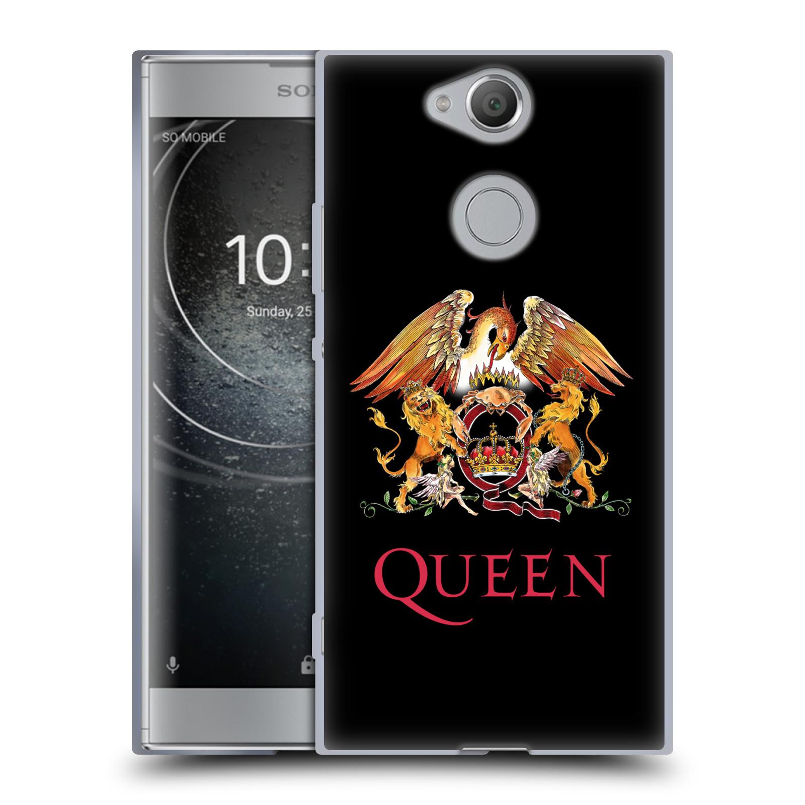 Silikonové pouzdro na mobil Sony Xperia XA2 - Head Case - Queen - Logo