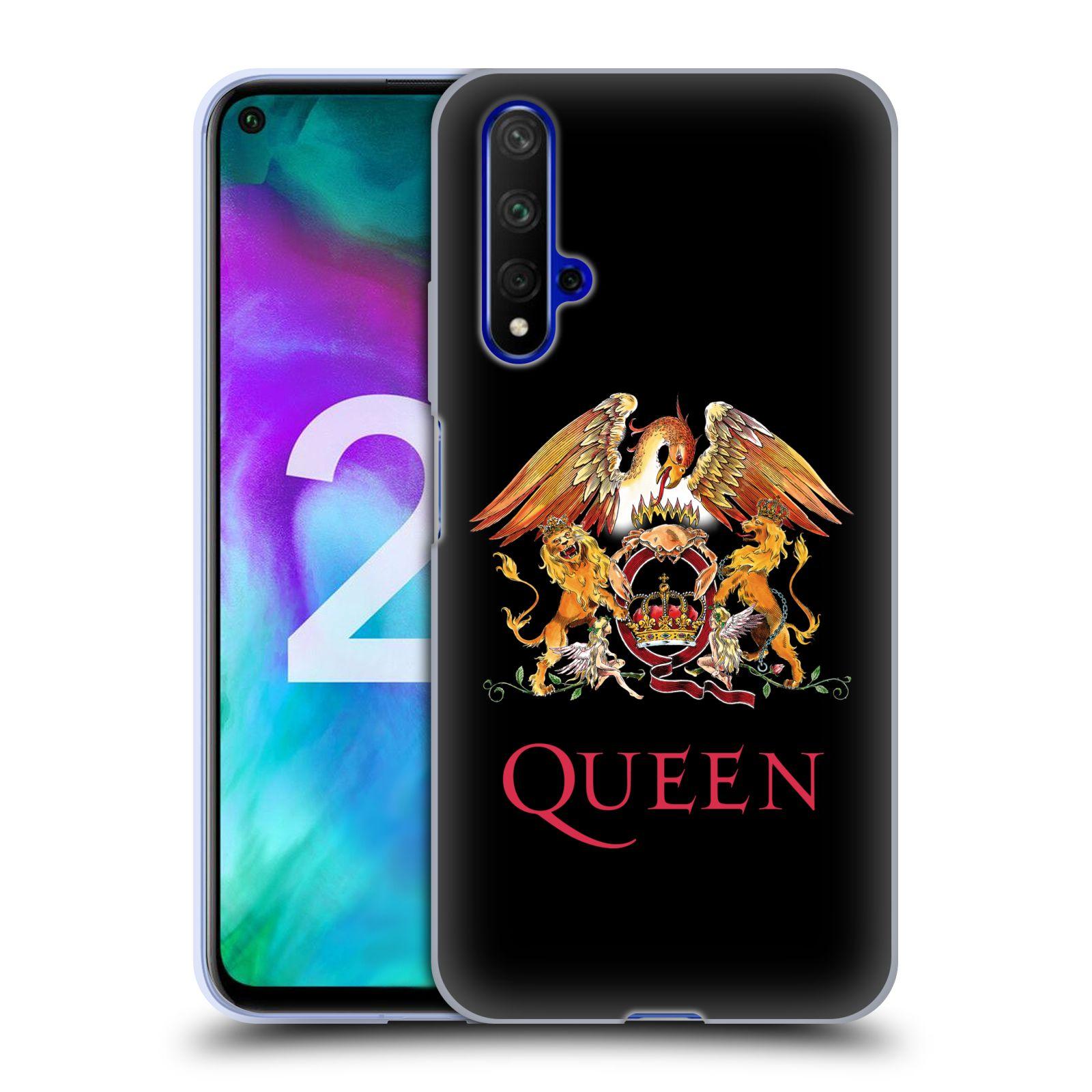 Silikonové pouzdro na mobil Honor 20 - Head Case - Queen - Logo