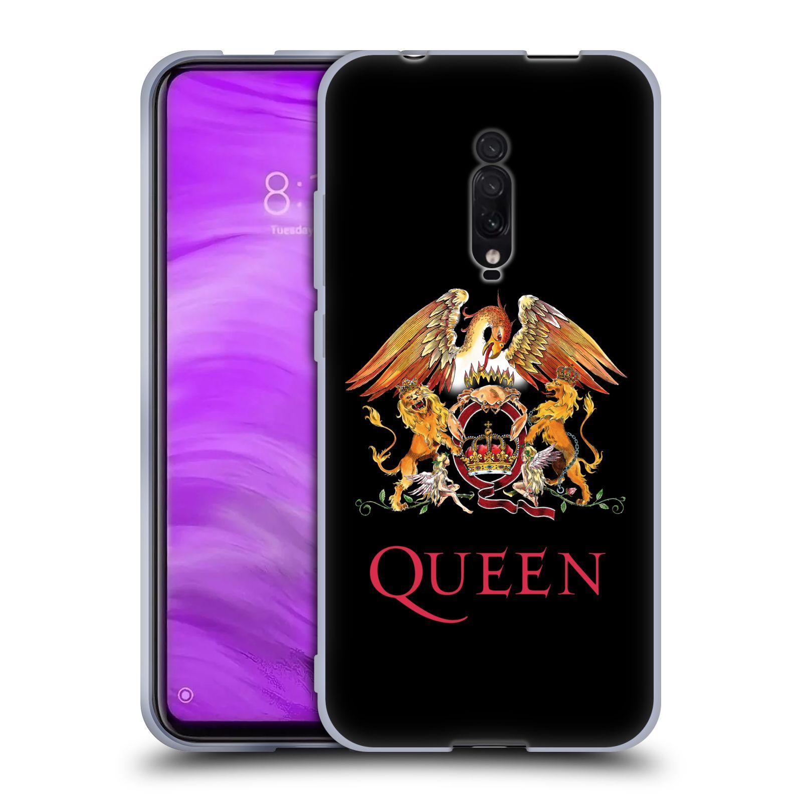 Silikonové pouzdro na mobil Xiaomi Mi 9T - Head Case - Queen - Logo