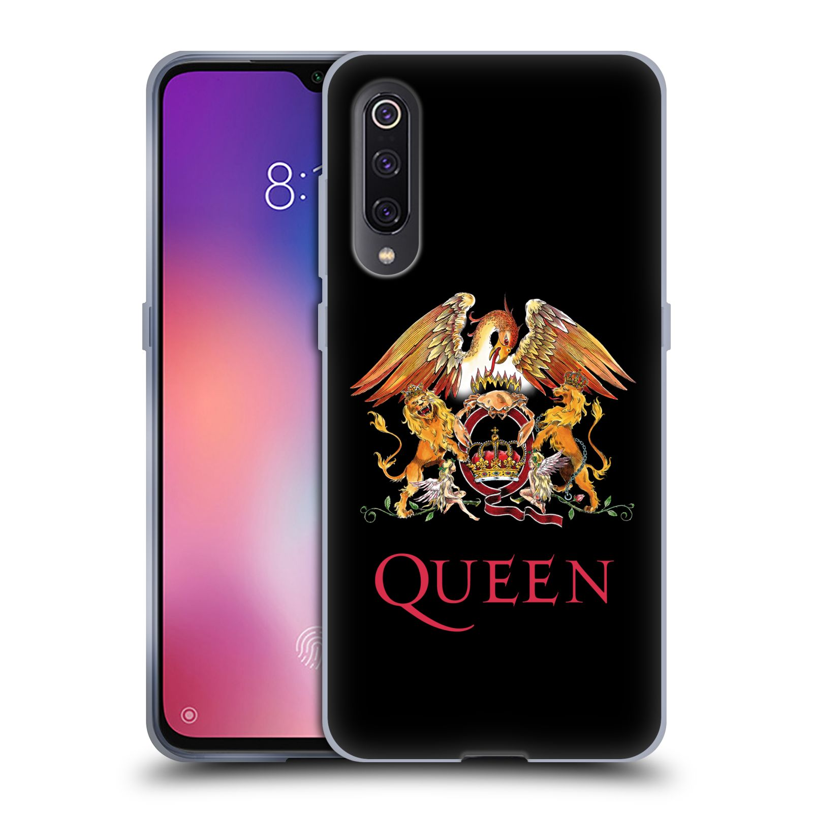 Silikonové pouzdro na mobil Xiaomi Mi 9 - Head Case - Queen - Logo