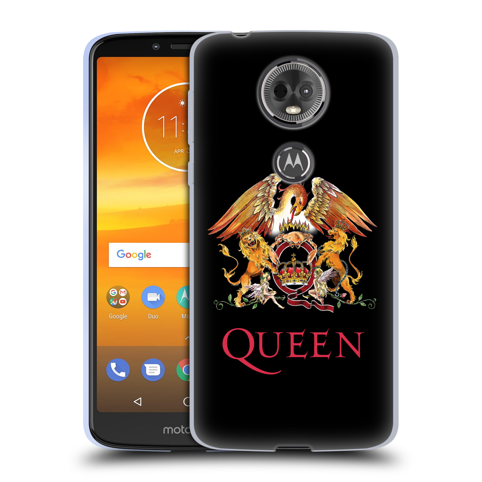 Silikonové pouzdro na mobil Motorola Moto E5 Plus - Head Case - Queen - Logo