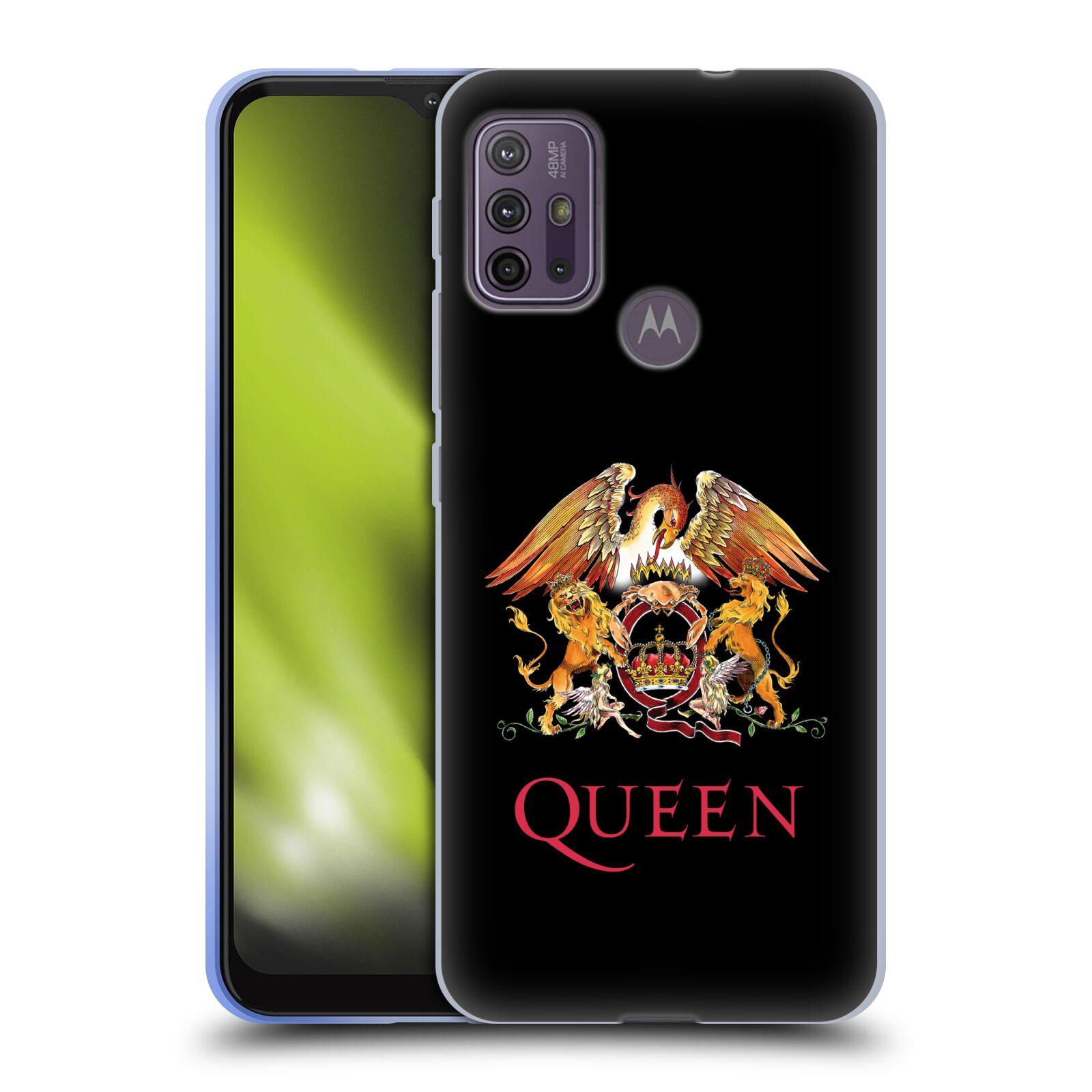 Silikonové pouzdro na mobil Motorola Moto G10 / G30 - Head Case - Queen - Logo