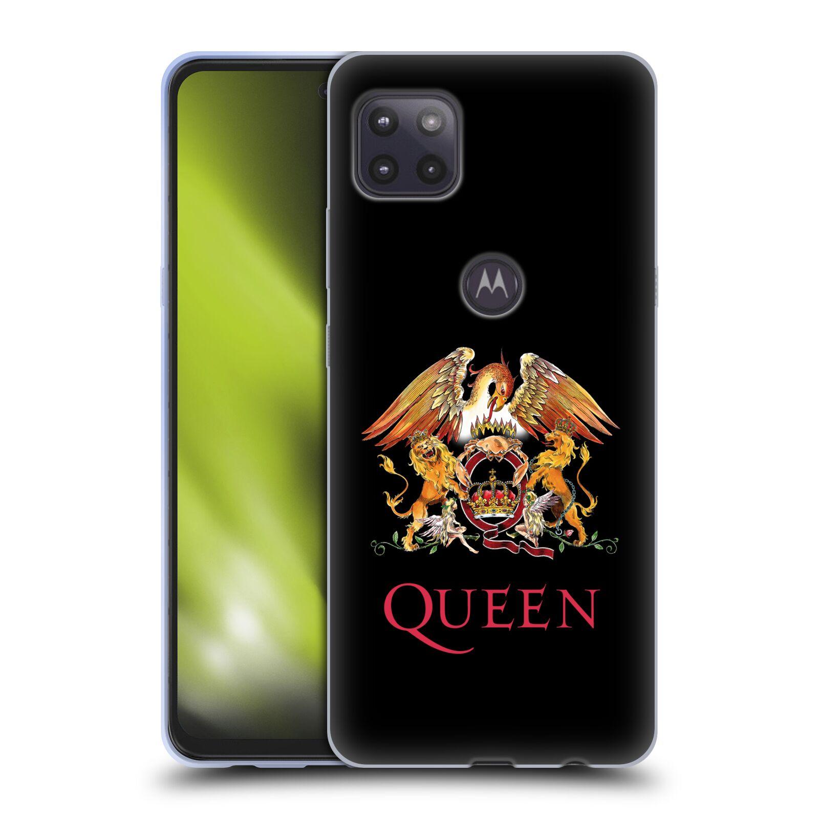 Silikonové pouzdro na mobil Motorola Moto G 5G - Head Case - Queen - Logo