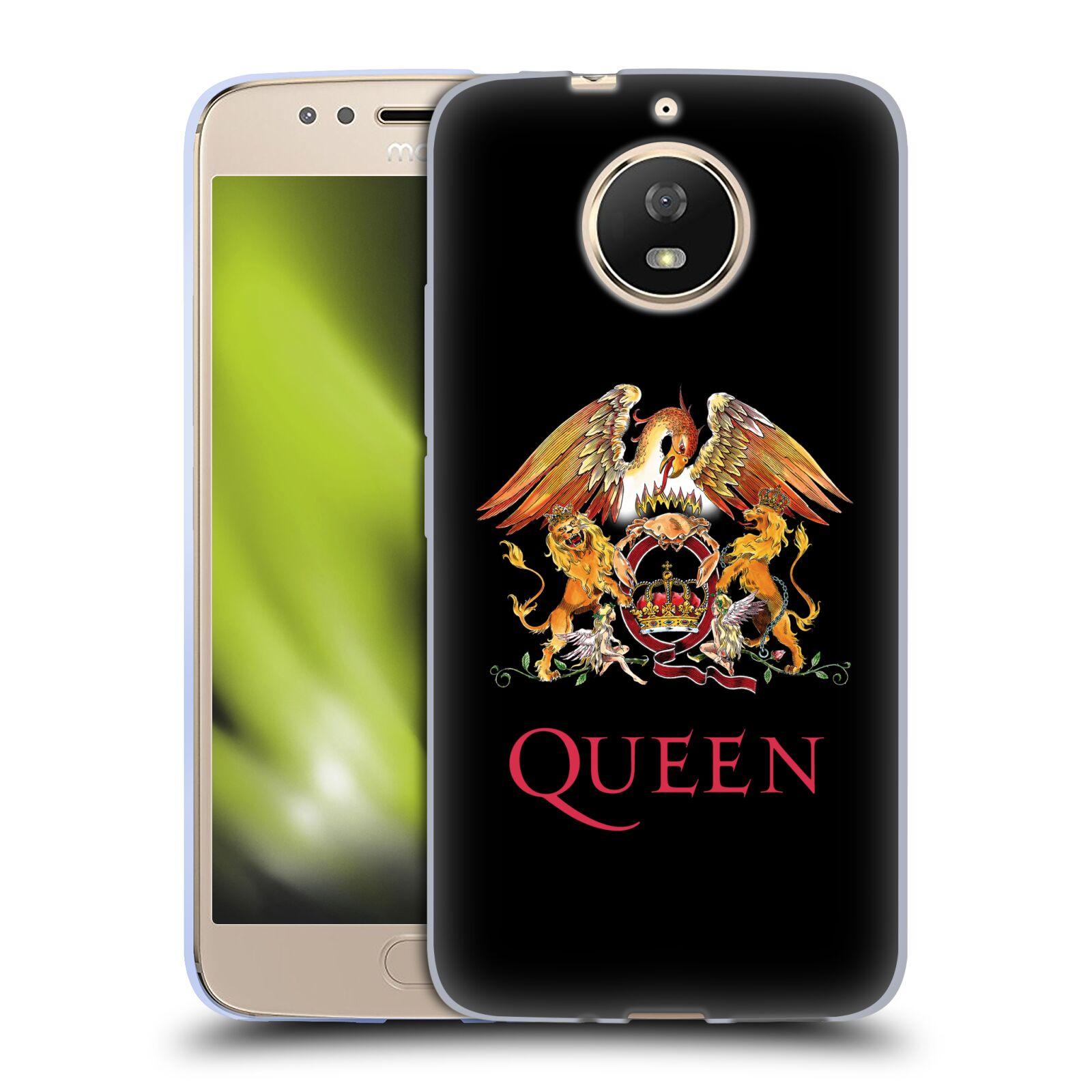 Silikonové pouzdro na mobil Lenovo Moto G5s - Head Case - Queen - Logo