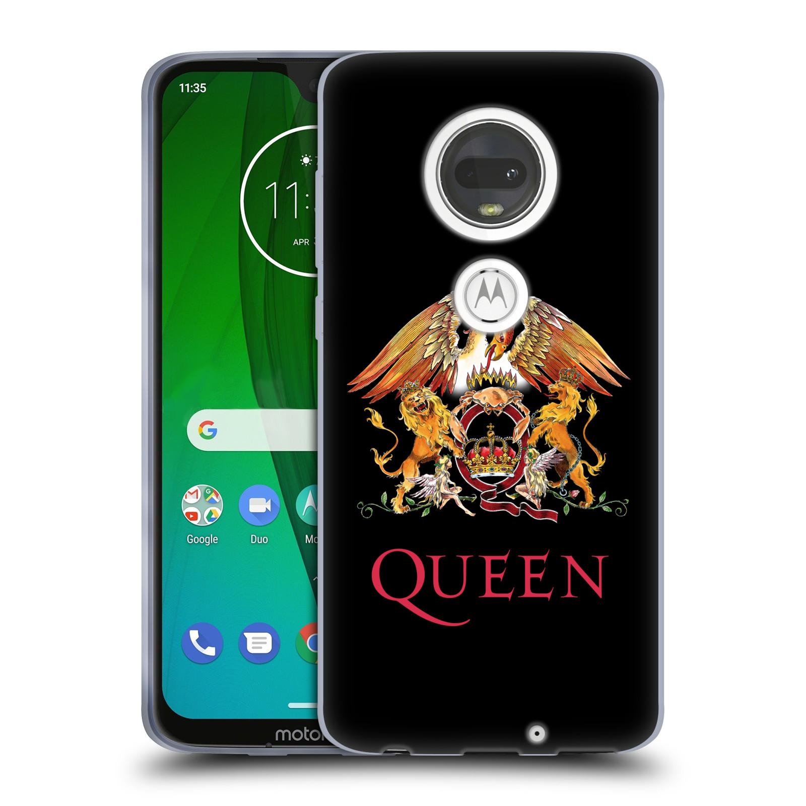Silikonové pouzdro na mobil Motorola Moto G7 - Head Case - Queen - Logo