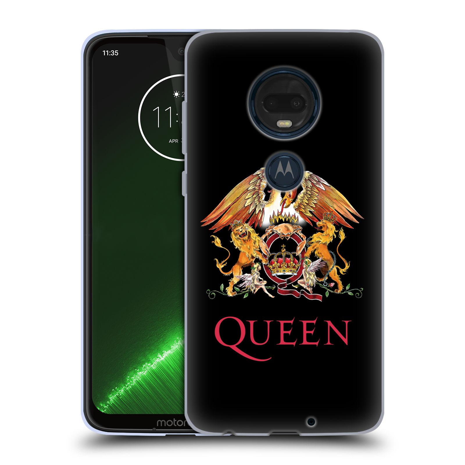 Silikonové pouzdro na mobil Motorola Moto G7 Plus - Head Case - Queen - Logo
