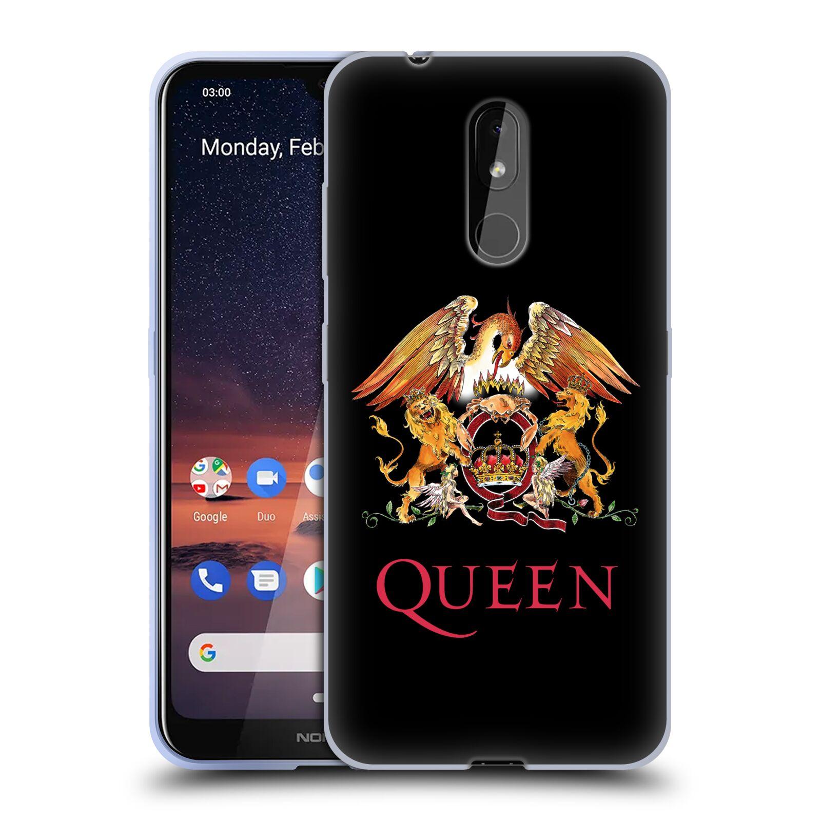 Silikonové pouzdro na mobil Nokia 3.2 - Head Case - Queen - Logo