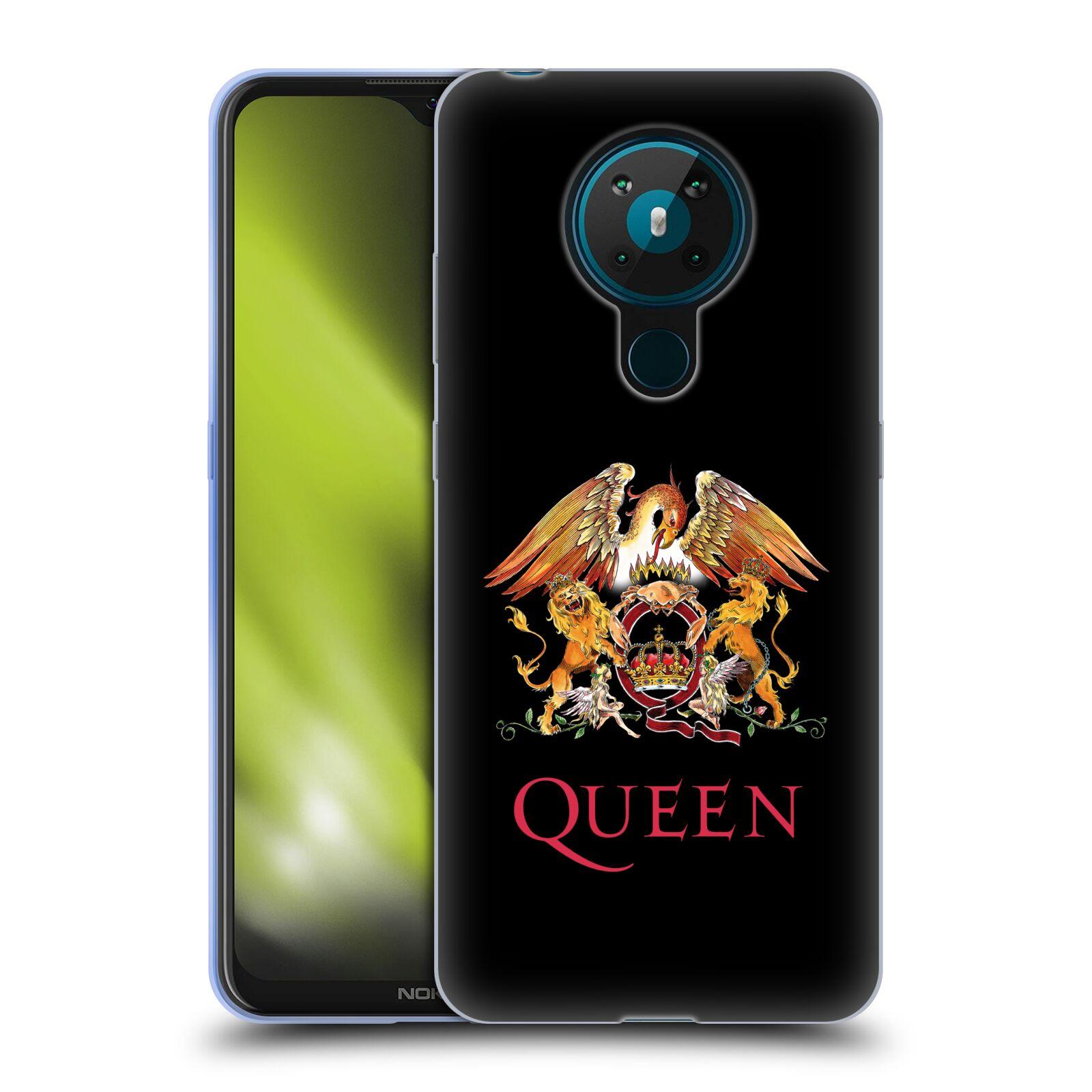 Silikonové pouzdro na mobil Nokia 5.3 - Head Case - Queen - Logo