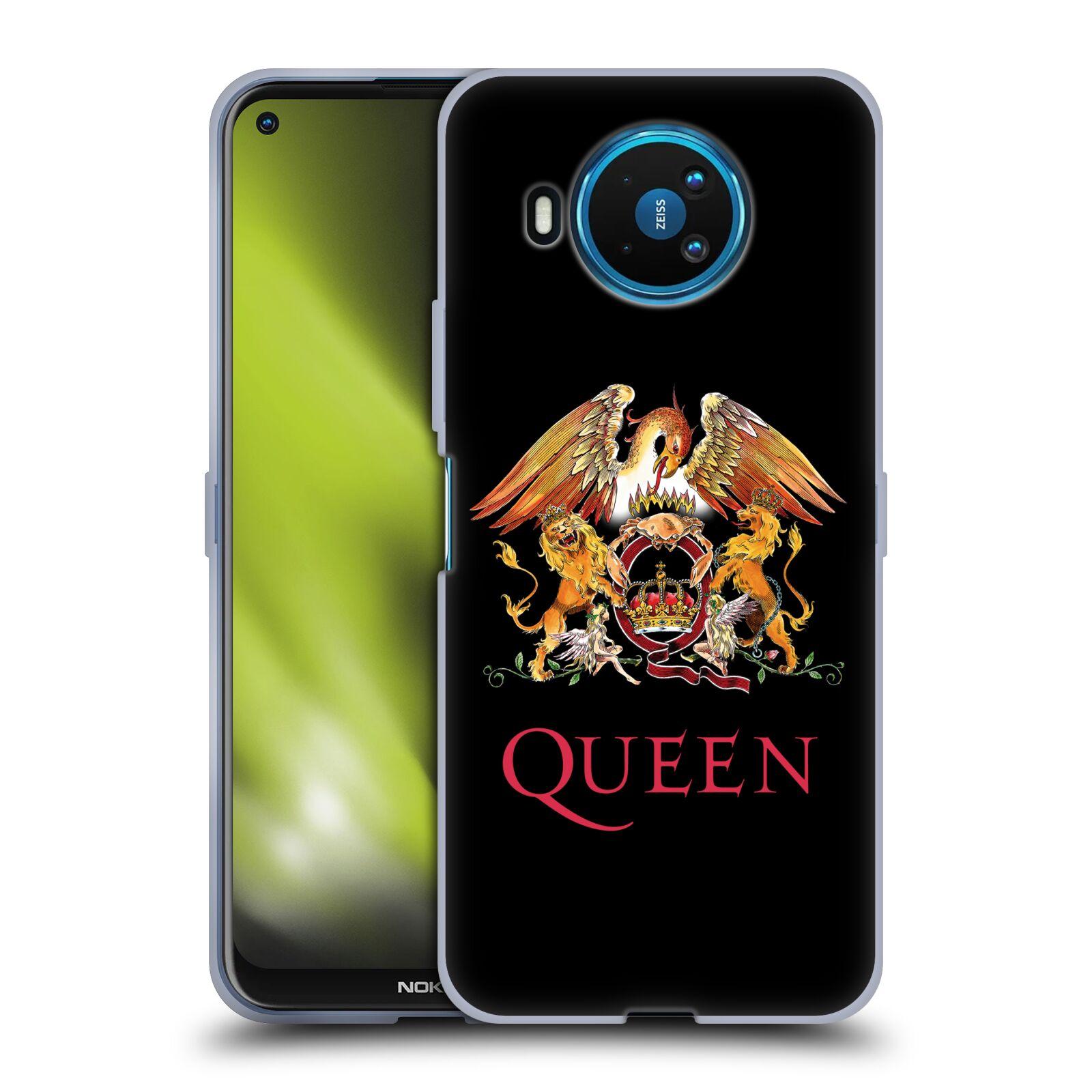 Silikonové pouzdro na mobil Nokia 8.3 5G - Head Case - Queen - Logo