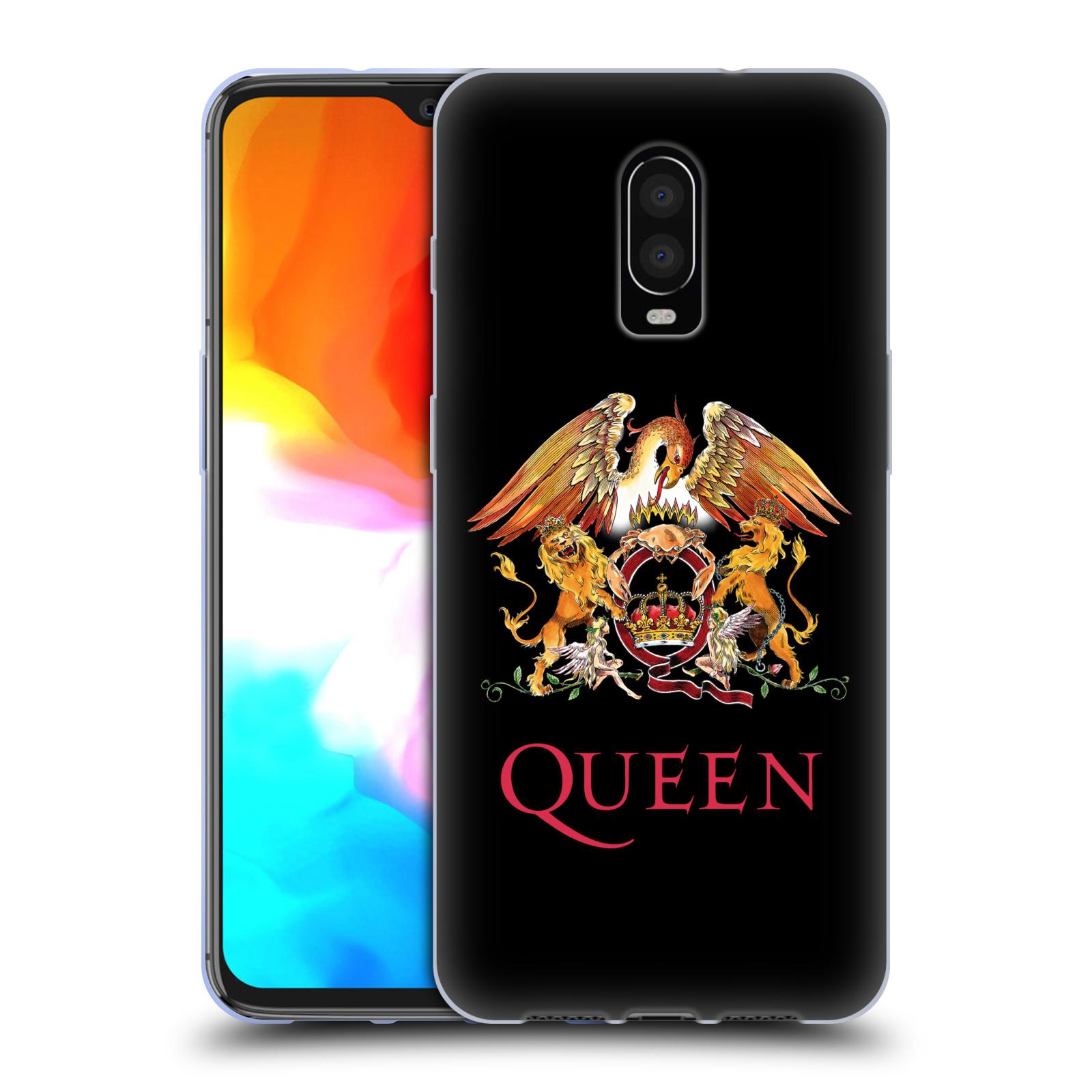 Silikonové pouzdro na mobil OnePlus 6T - Head Case - Queen - Logo