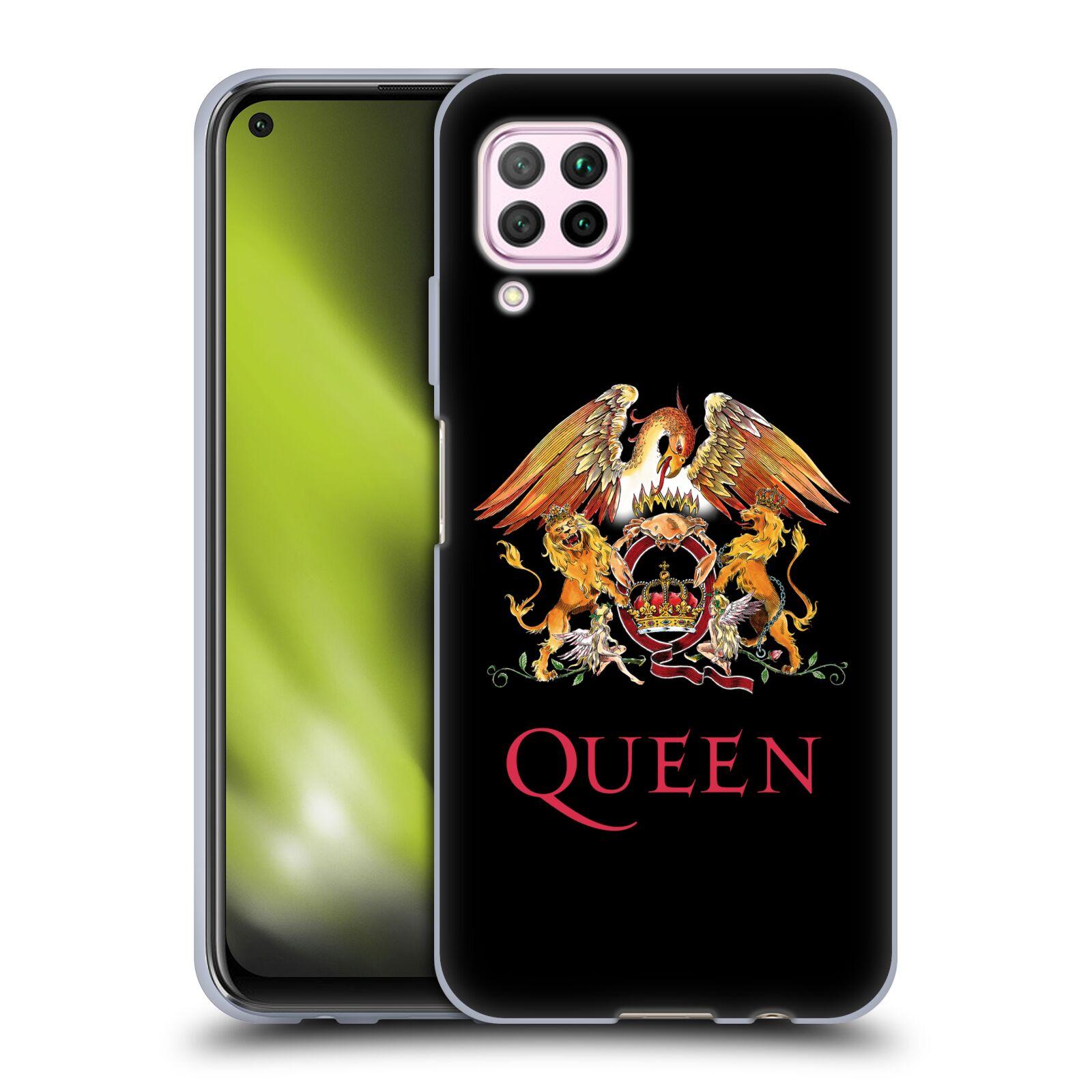 Silikonové pouzdro na mobil Huawei P40 Lite - Head Case - Queen - Logo