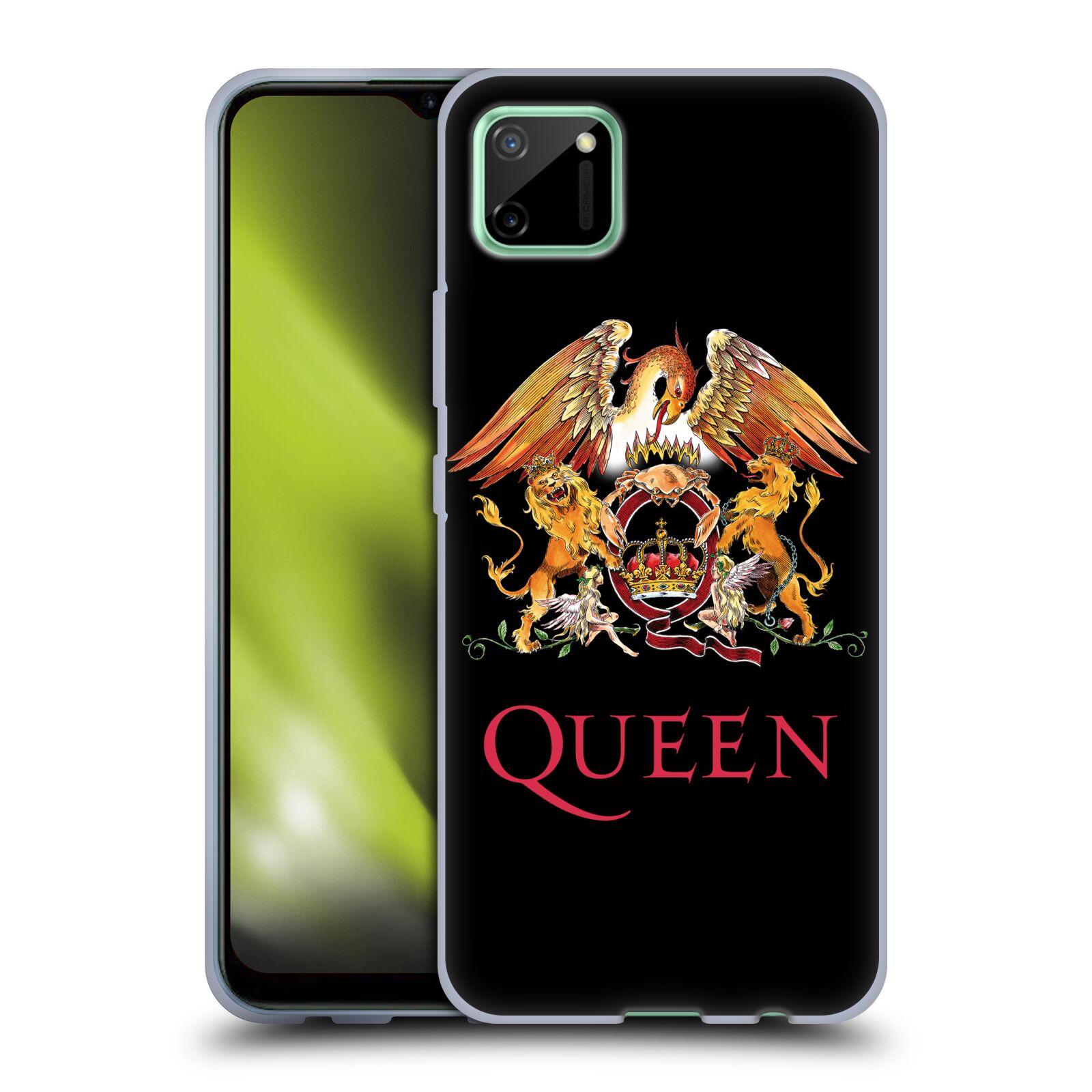 Silikonové pouzdro na mobil Realme C11 - Head Case - Queen - Logo