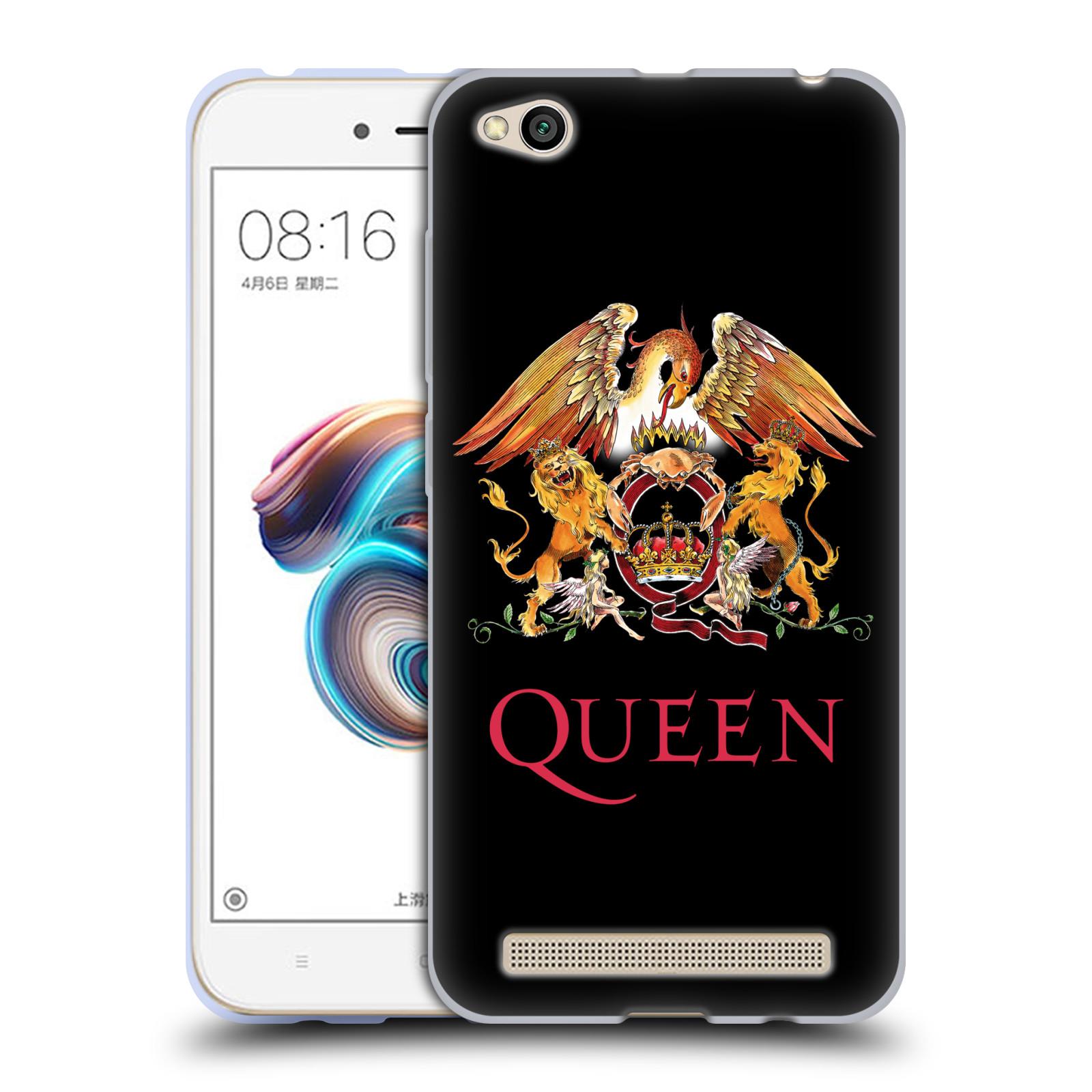 Silikonové pouzdro na mobil Xiaomi Redmi 5A - Head Case - Queen - Logo