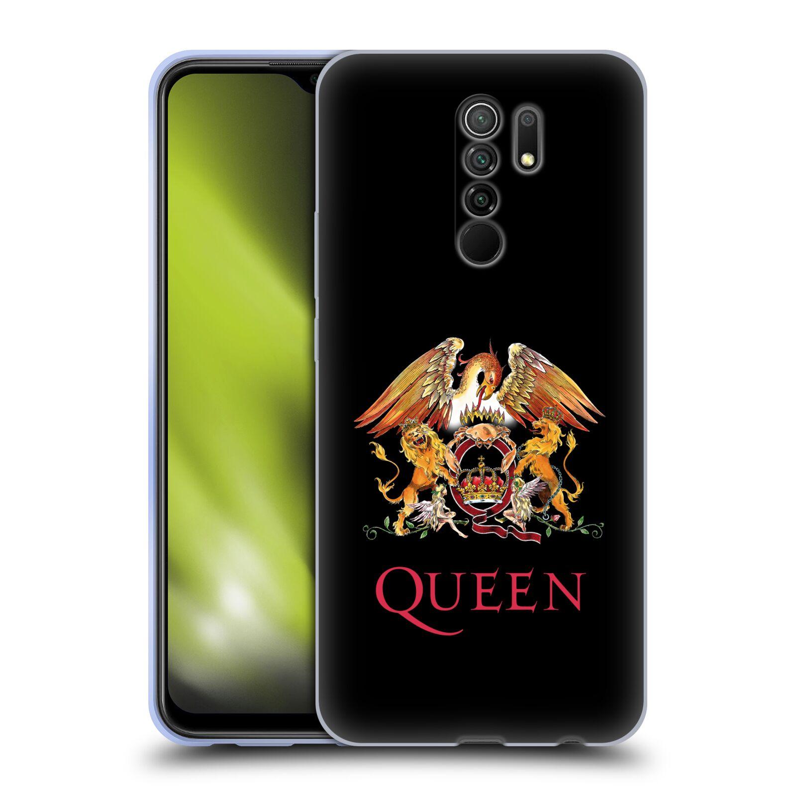 Silikonové pouzdro na mobil Xiaomi Redmi 9 - Head Case - Queen - Logo