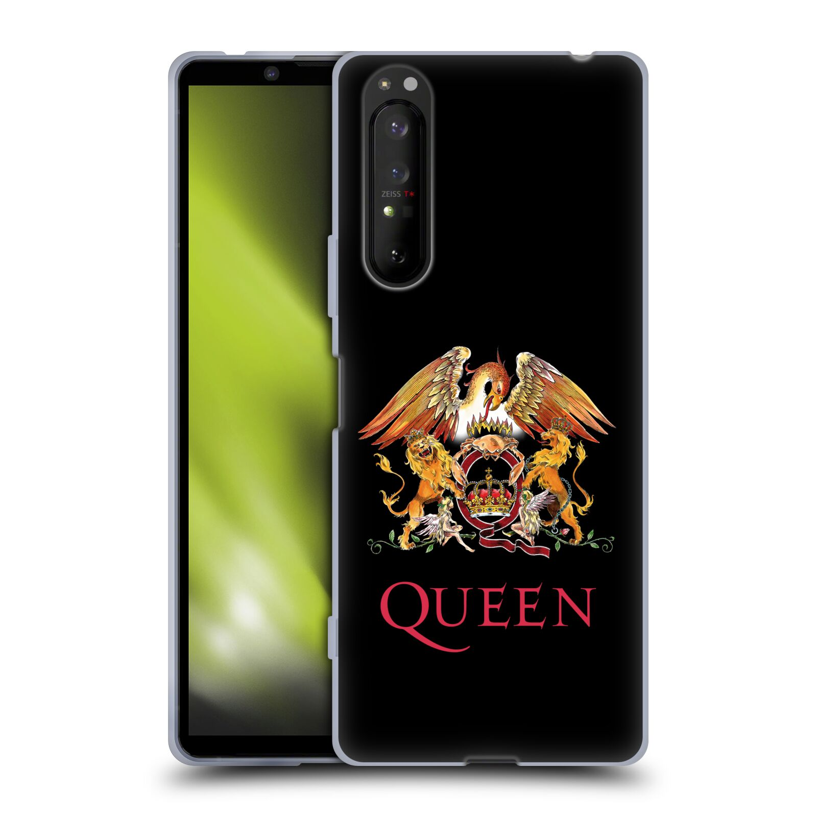 Silikonové pouzdro na mobil Sony Xperia 1 II - Head Case - Queen - Logo