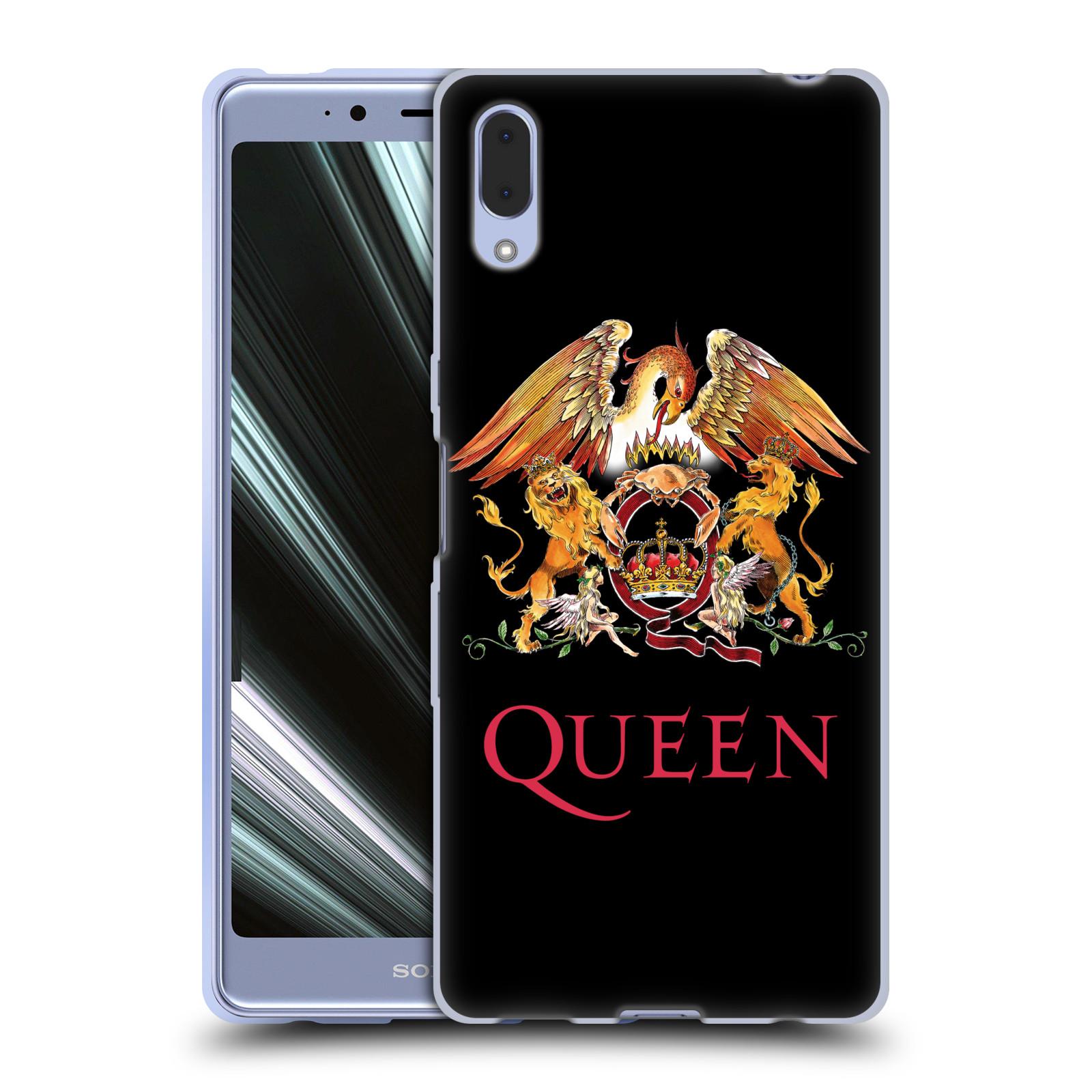 Silikonové pouzdro na mobil Sony Xperia L3 - Head Case - Queen - Logo