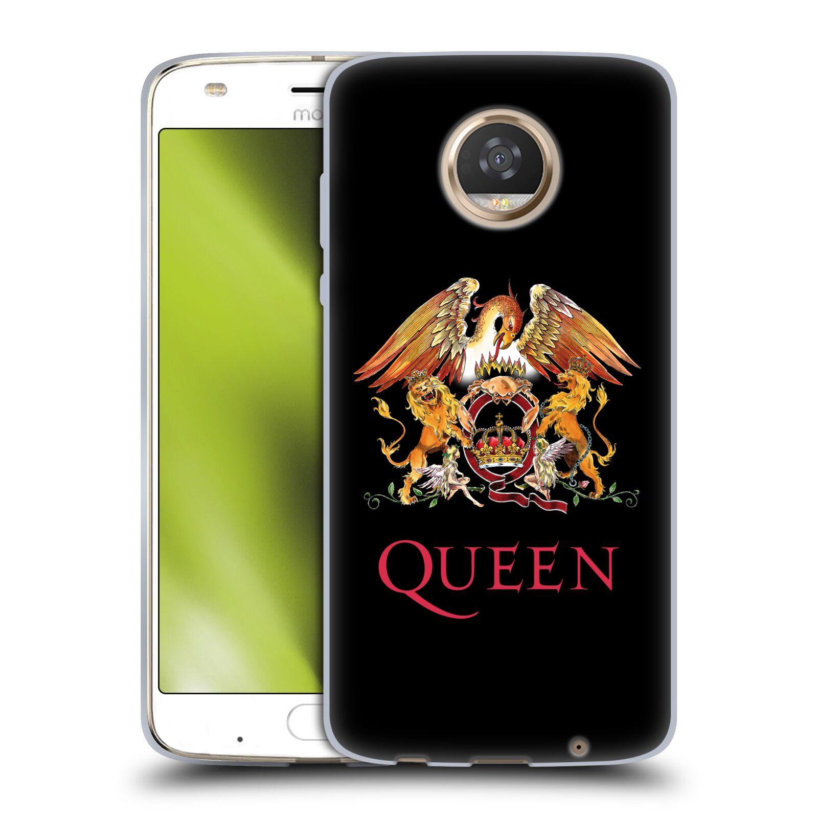 Silikonové pouzdro na mobil Lenovo Moto Z2 Play - Head Case - Queen - Logo