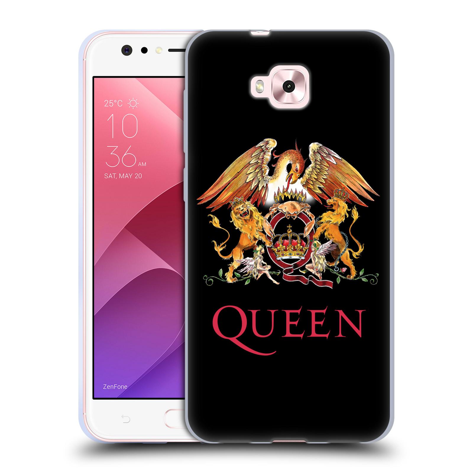 Silikonové pouzdro na mobil Asus Zenfone 4 Selfie ZD553KL - Head Case - Queen - Logo