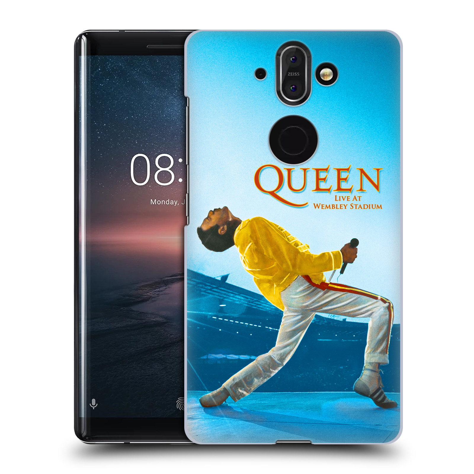 Plastové pouzdro na mobil Nokia 8 Sirocco - Head Case - Queen - Freddie Mercury