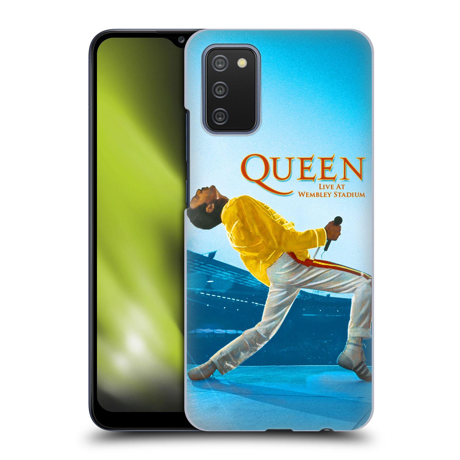 Plastové pouzdro na mobil Samsung Galaxy A02s - Head Case - Queen - Freddie Mercury