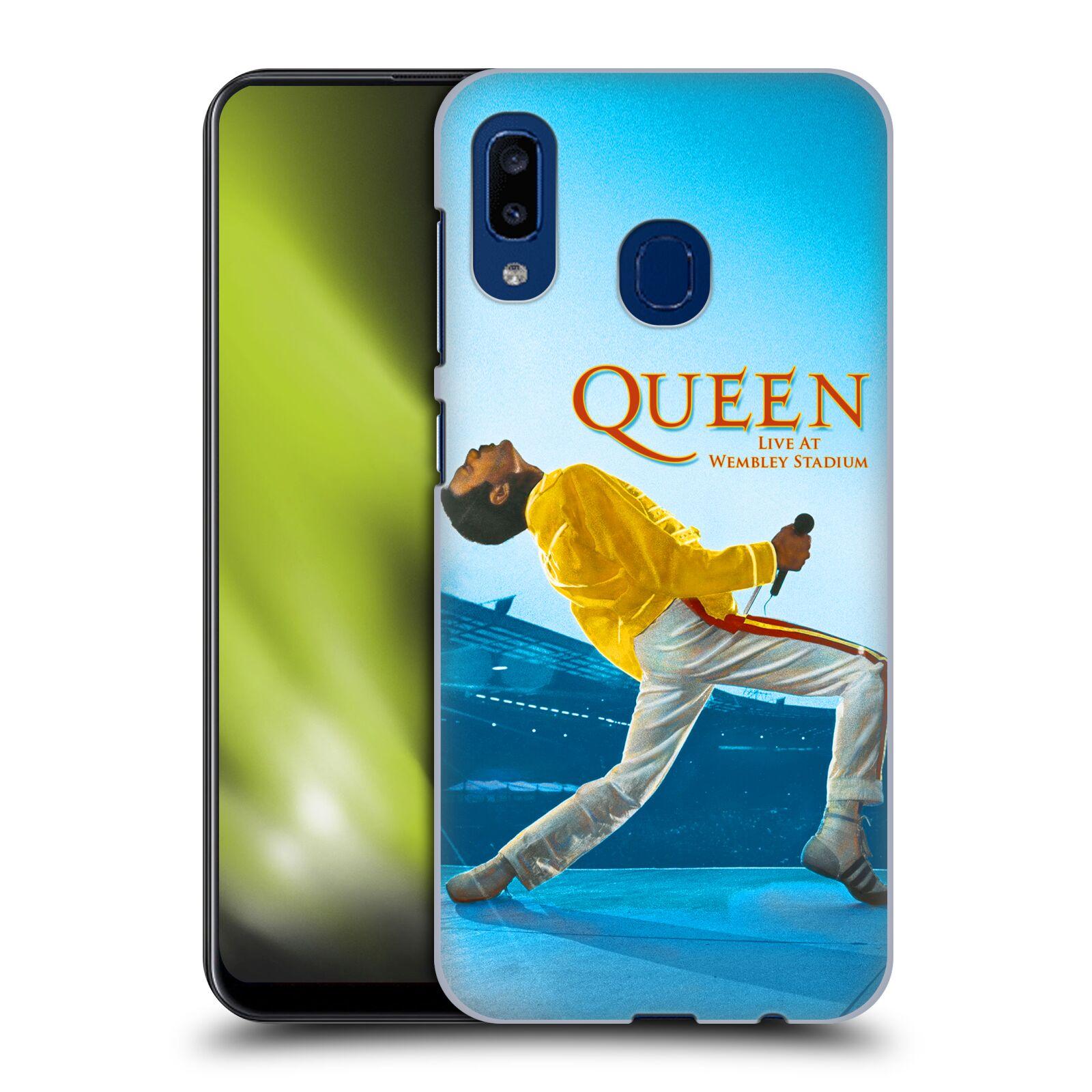 Plastové pouzdro na mobil Samsung Galaxy A20 - Head Case - Queen - Freddie Mercury