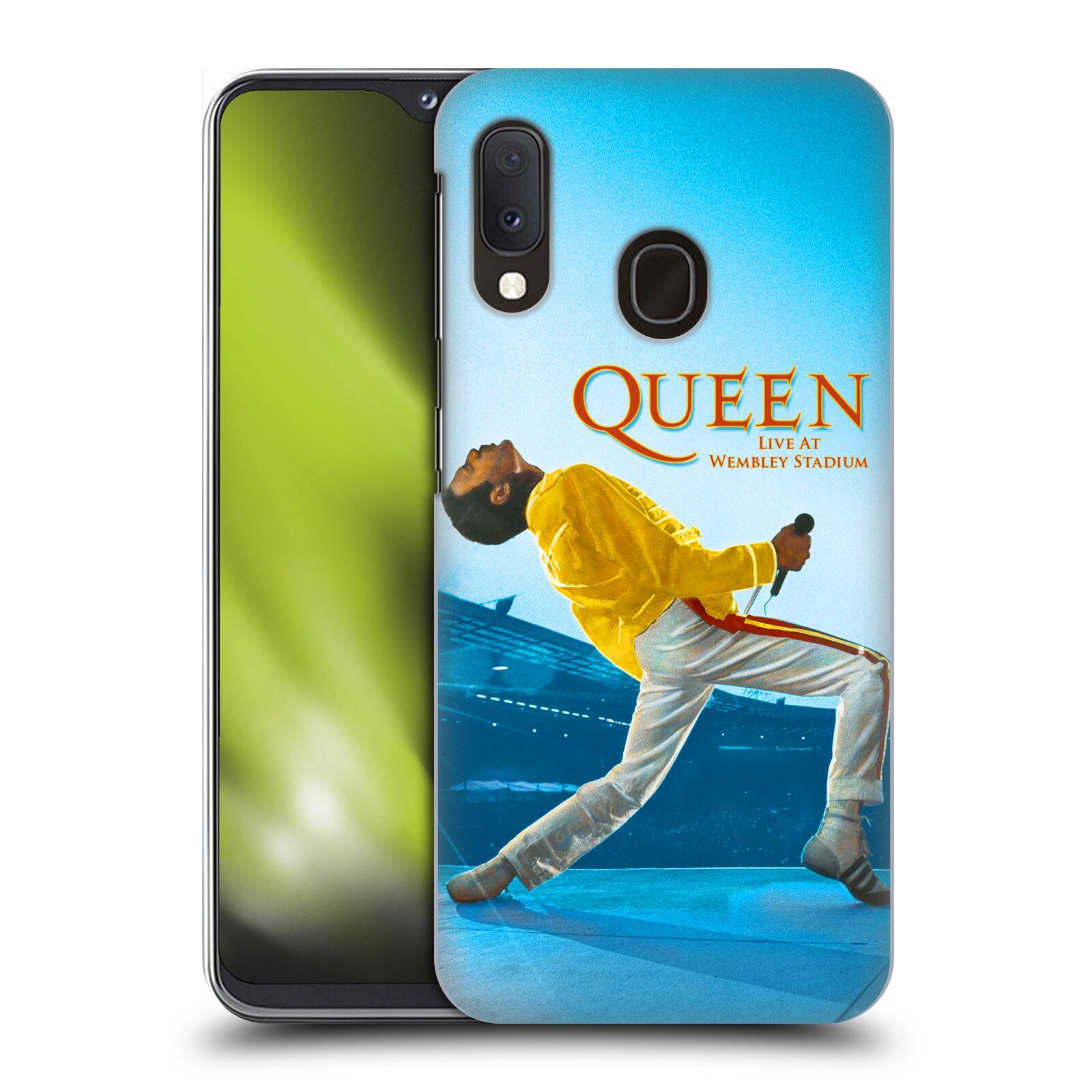 Plastové pouzdro na mobil Samsung Galaxy A20e - Head Case - Queen - Freddie Mercury