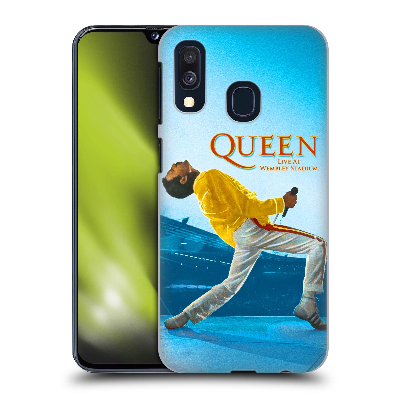 Plastové pouzdro na mobil Samsung Galaxy A40 - Head Case - Queen - Freddie Mercury