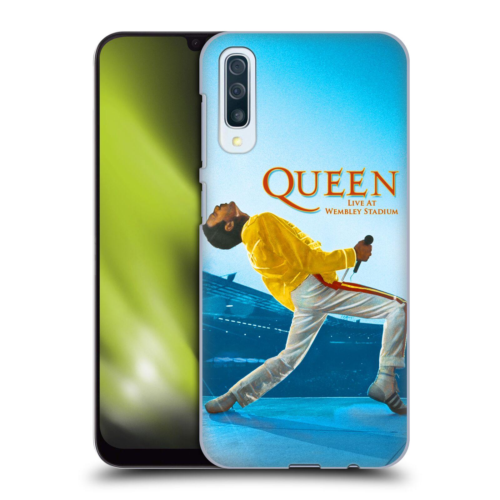 Plastové pouzdro na mobil Samsung Galaxy A50 - Head Case - Queen - Freddie Mercury
