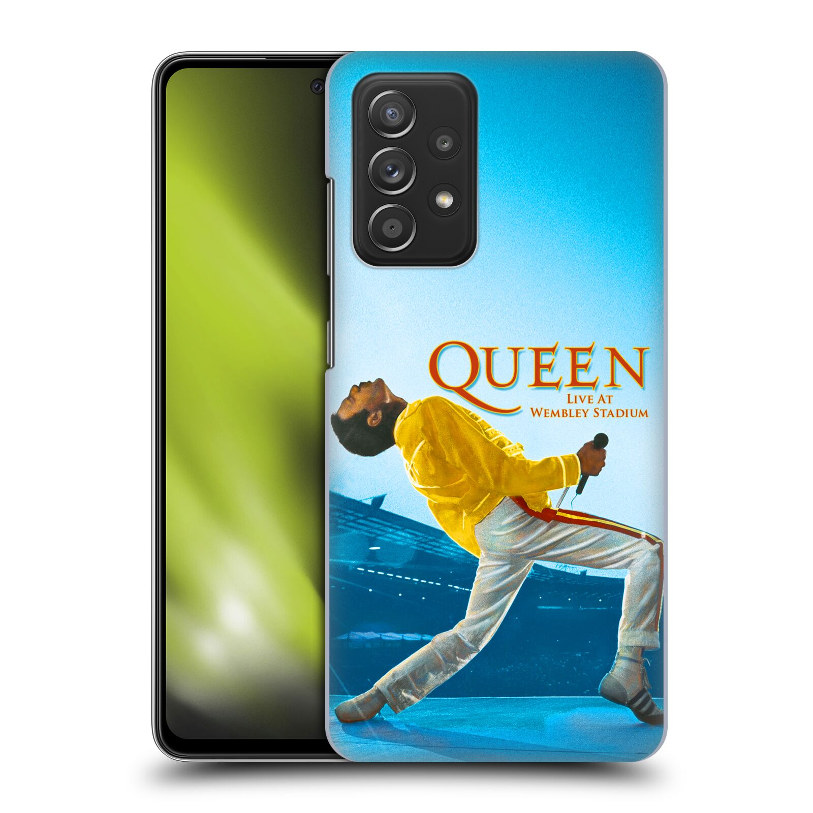 Plastové pouzdro na mobil Samsung Galaxy A52 / A52 5G / A52s 5G - Head Case - Queen - Freddie Mercury