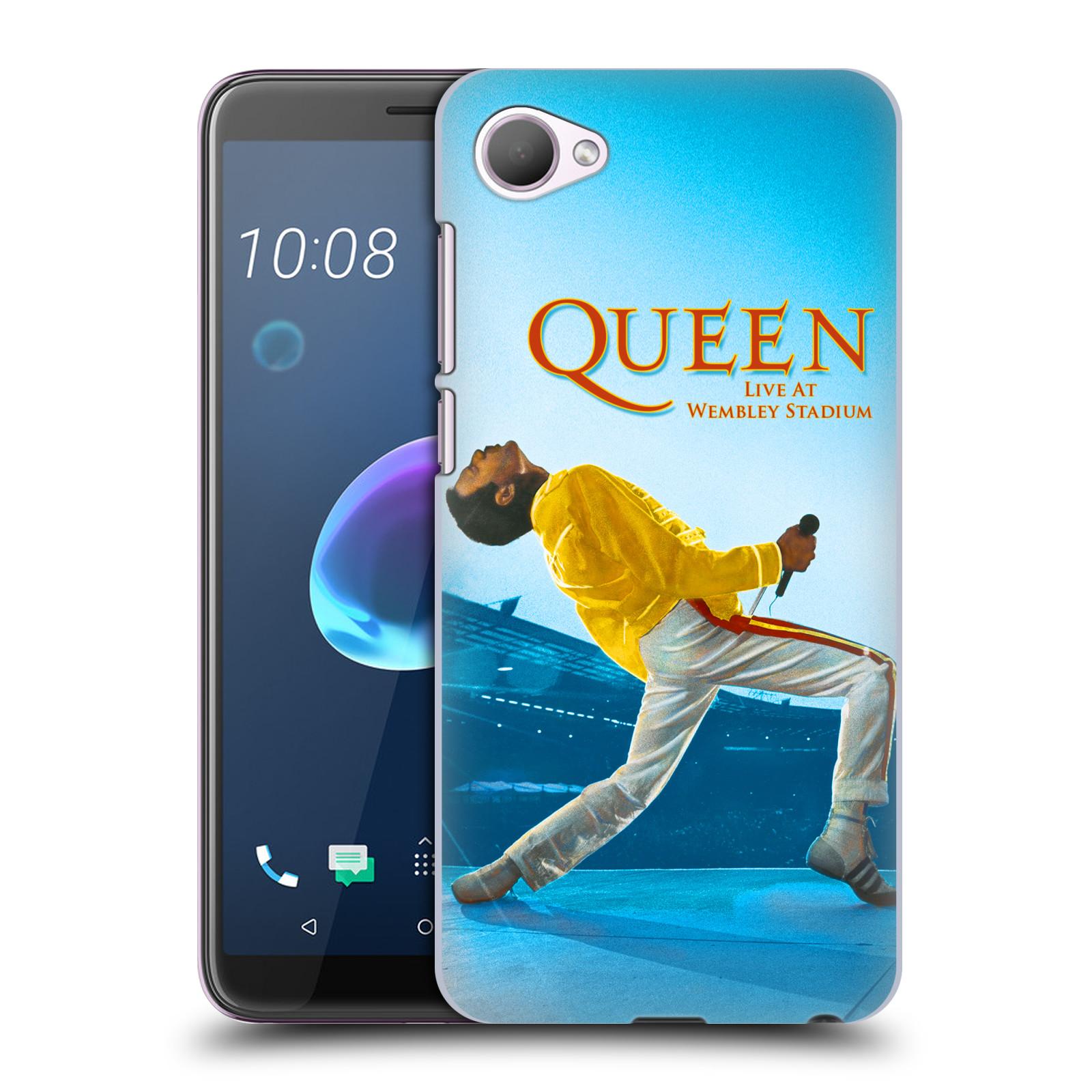 Plastové pouzdro na mobil HTC Desire 12 - Head Case - Queen - Freddie Mercury