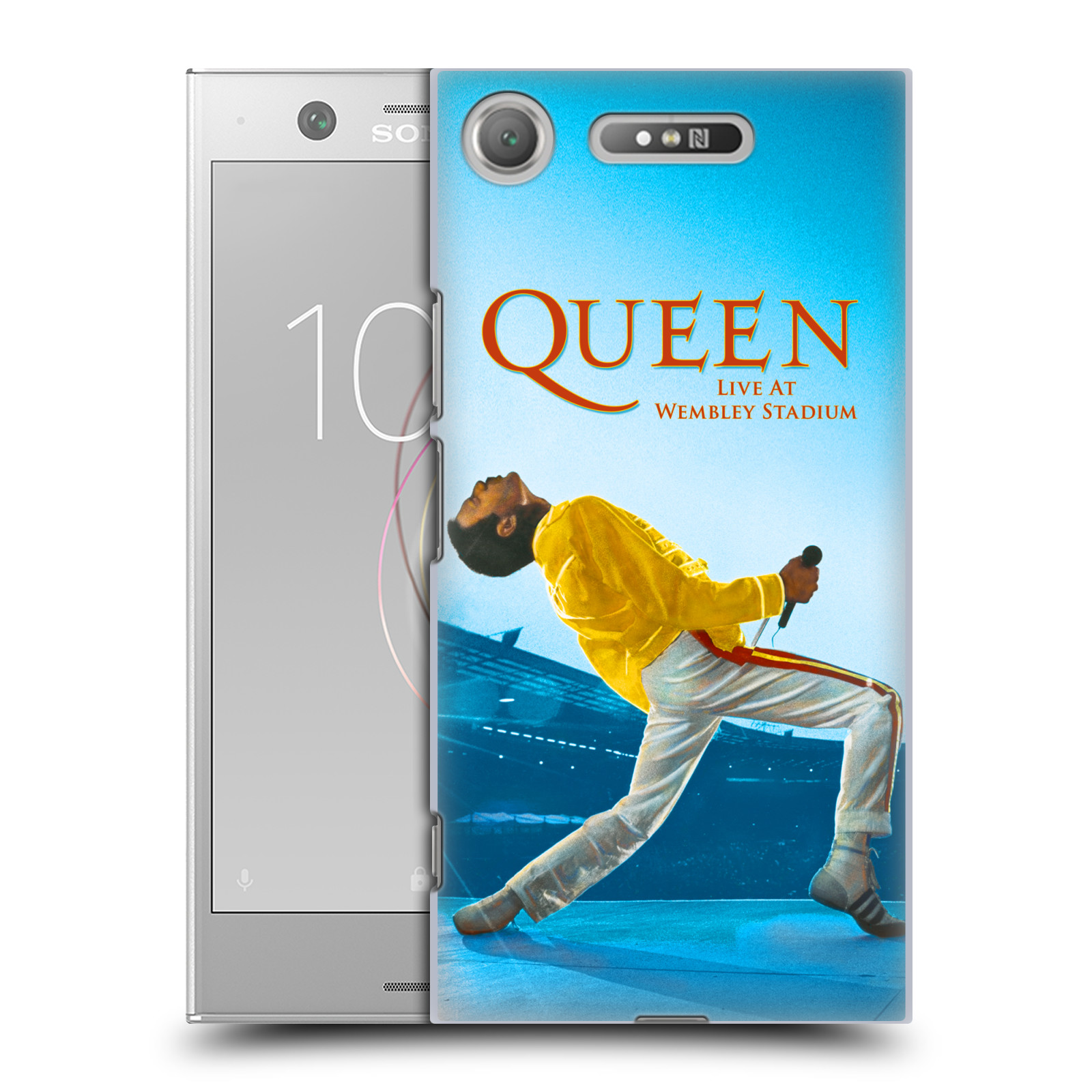 Plastové pouzdro na mobil Sony Xperia XZ1 - Head Case - Queen - Freddie Mercury