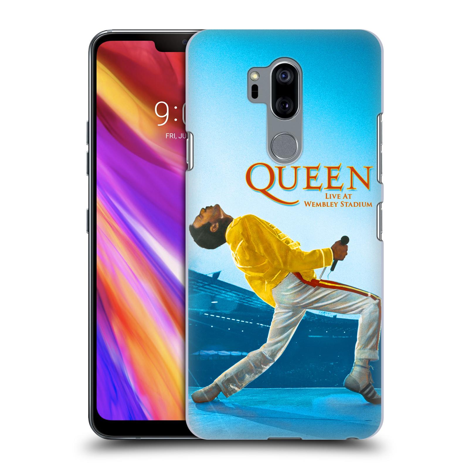 Plastové pouzdro na mobil LG G7 ThinQ - Head Case - Queen - Freddie Mercury