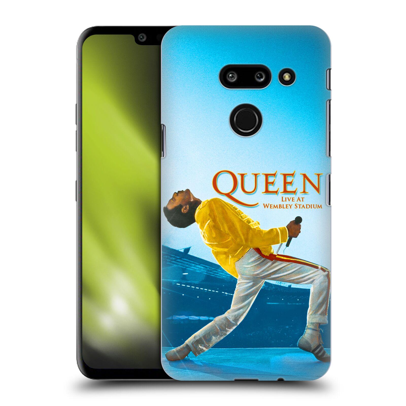 Plastové pouzdro na mobil LG G8 ThinQ - Head Case - Queen - Freddie Mercury