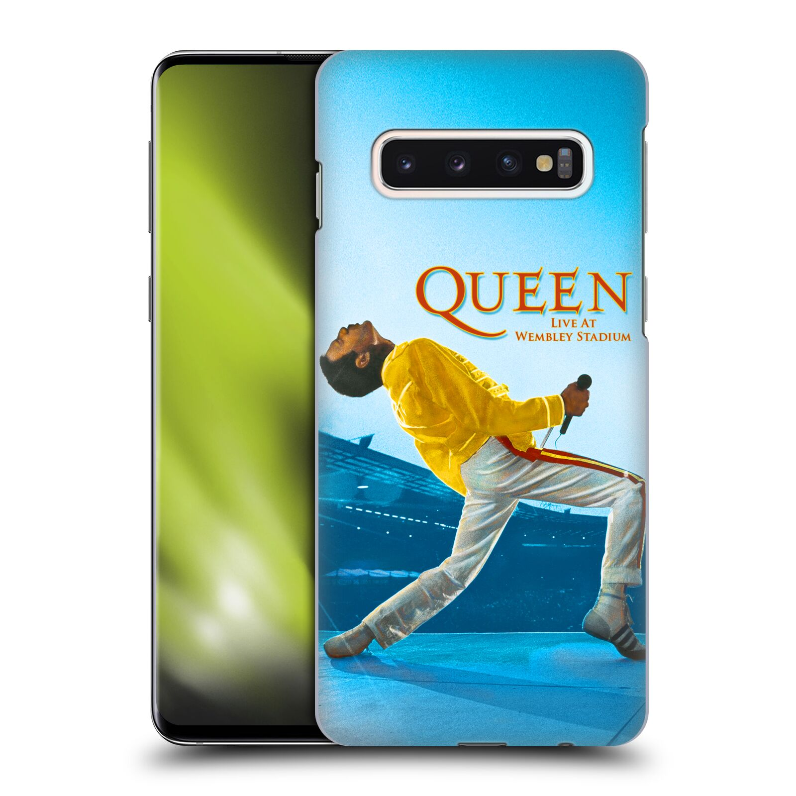 Plastové pouzdro na mobil Samsung Galaxy S10 - Head Case - Queen - Freddie Mercury