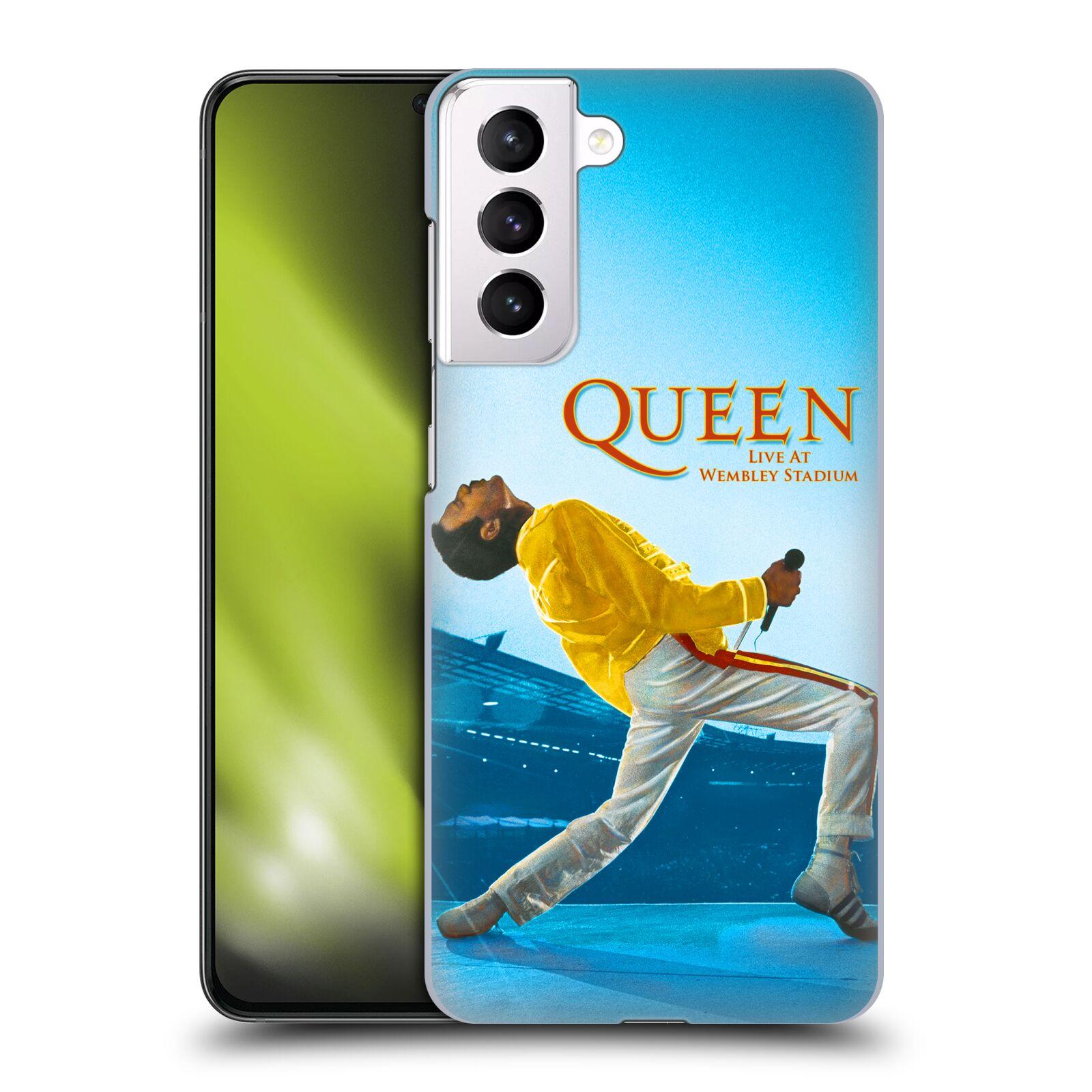 Plastové pouzdro na mobil Samsung Galaxy S21 Plus 5G - Head Case - Queen - Freddie Mercury