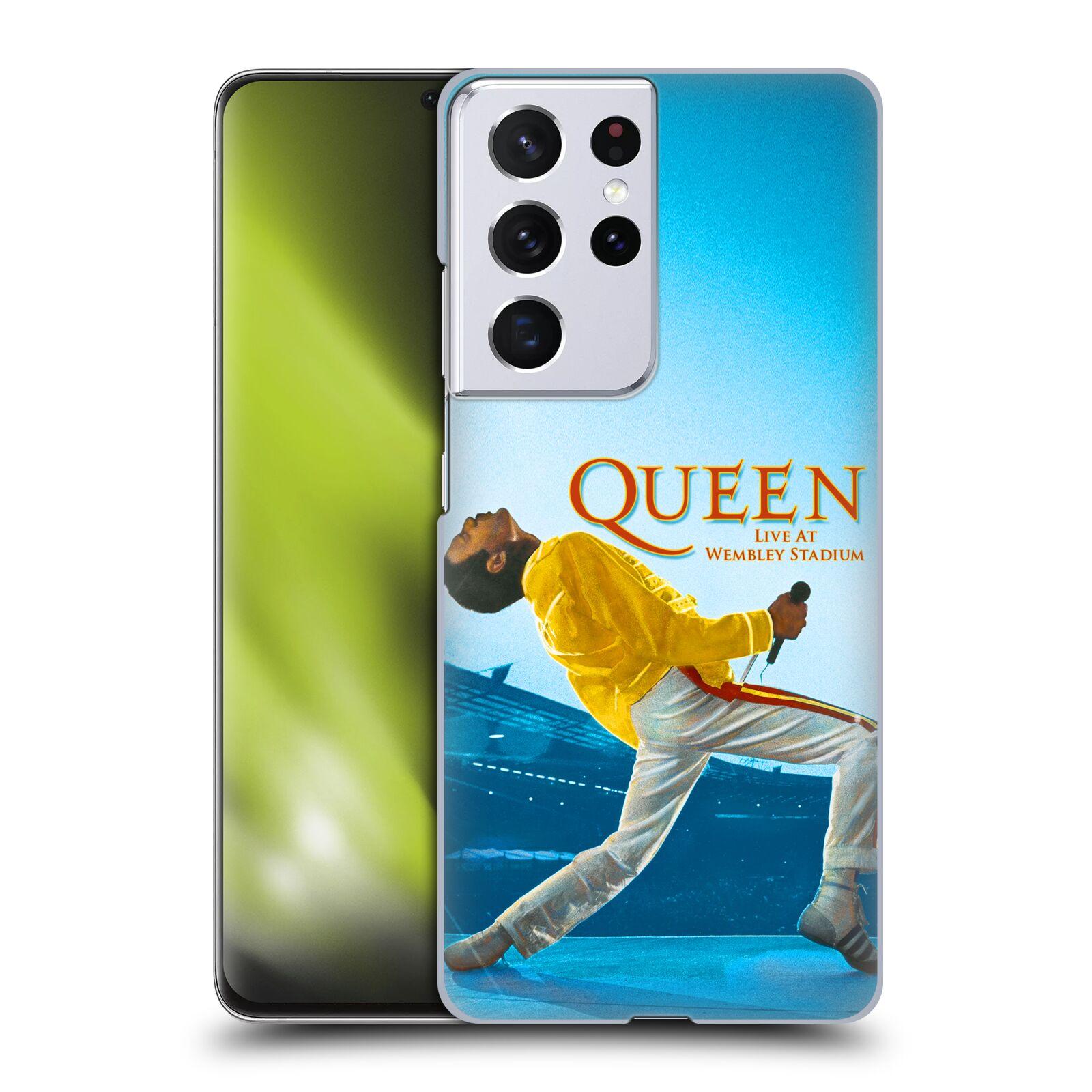 Plastové pouzdro na mobil Samsung Galaxy S21 Ultra 5G - Head Case - Queen - Freddie Mercury