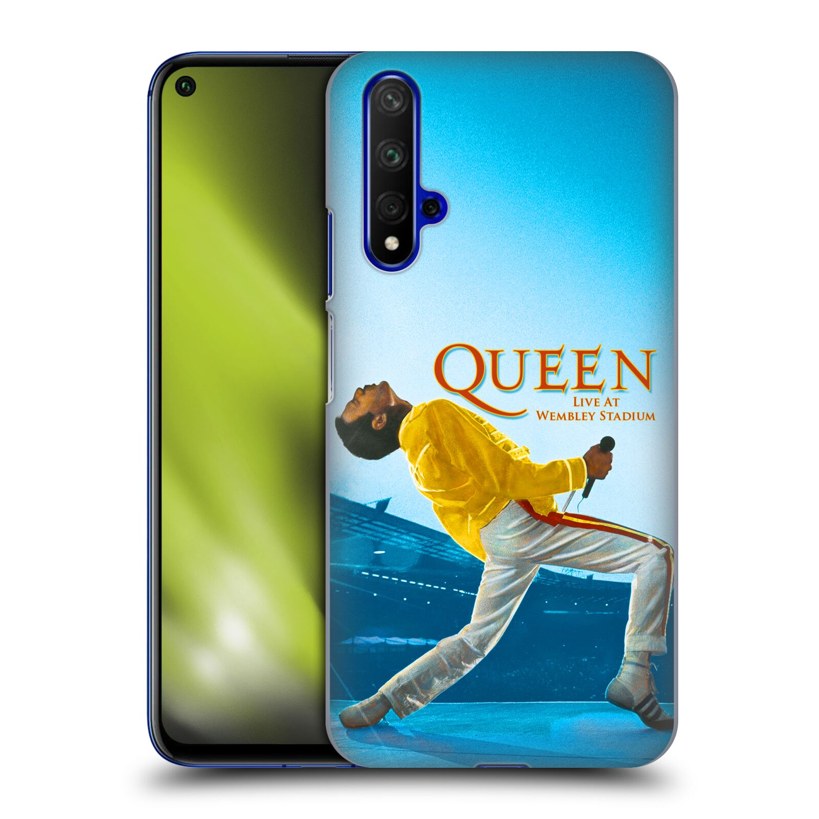 Plastové pouzdro na mobil Honor 20 - Head Case - Queen - Freddie Mercury
