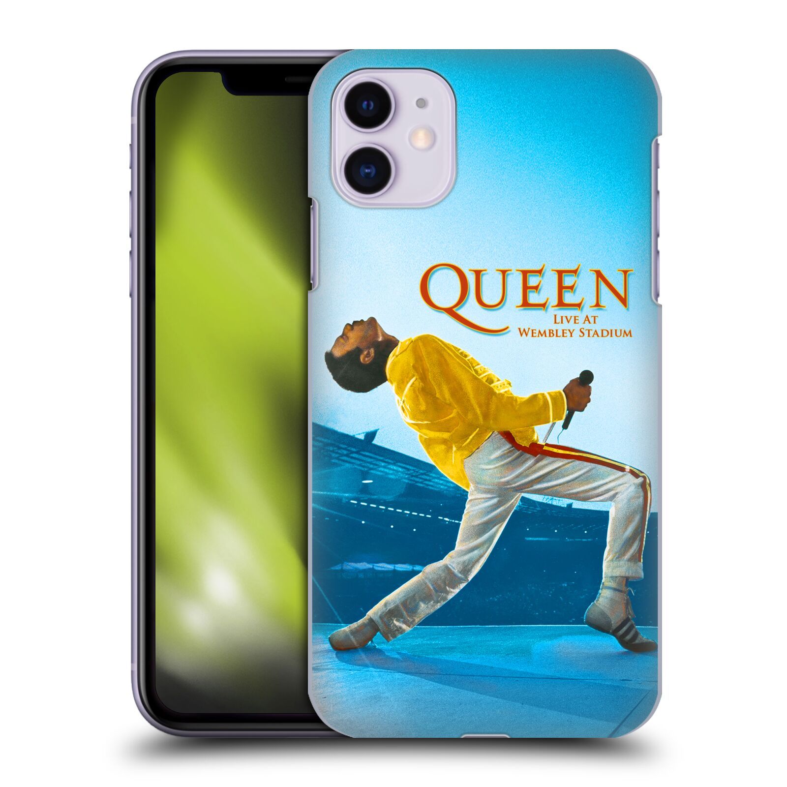 Plastové pouzdro na mobil Apple iPhone 11 - Head Case - Queen - Freddie Mercury