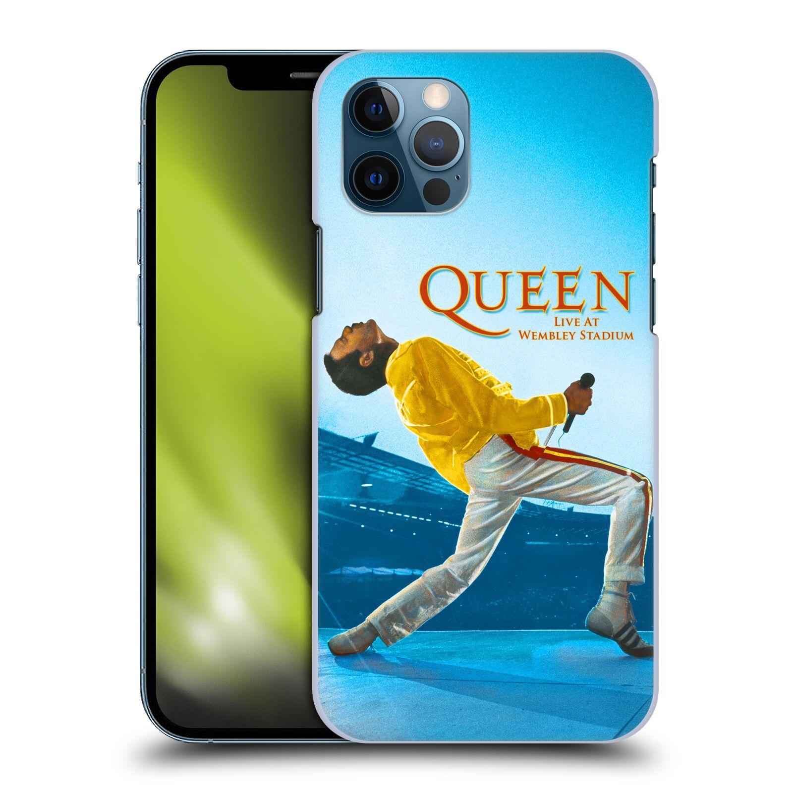 Plastové pouzdro na mobil Apple iPhone 12 / 12 Pro - Head Case - Queen - Freddie Mercury