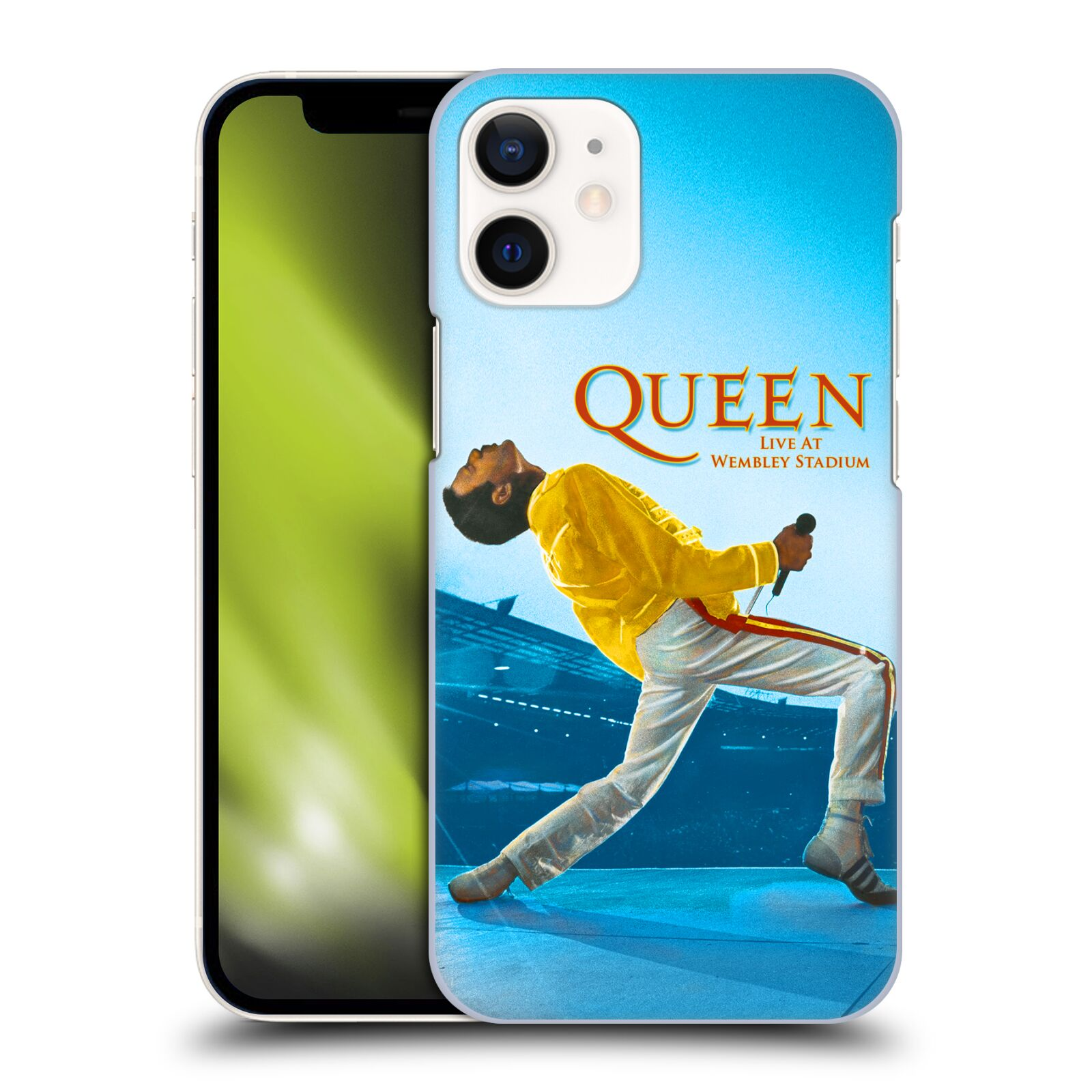 Plastové pouzdro na mobil Apple iPhone 12 Mini - Head Case - Queen - Freddie Mercury