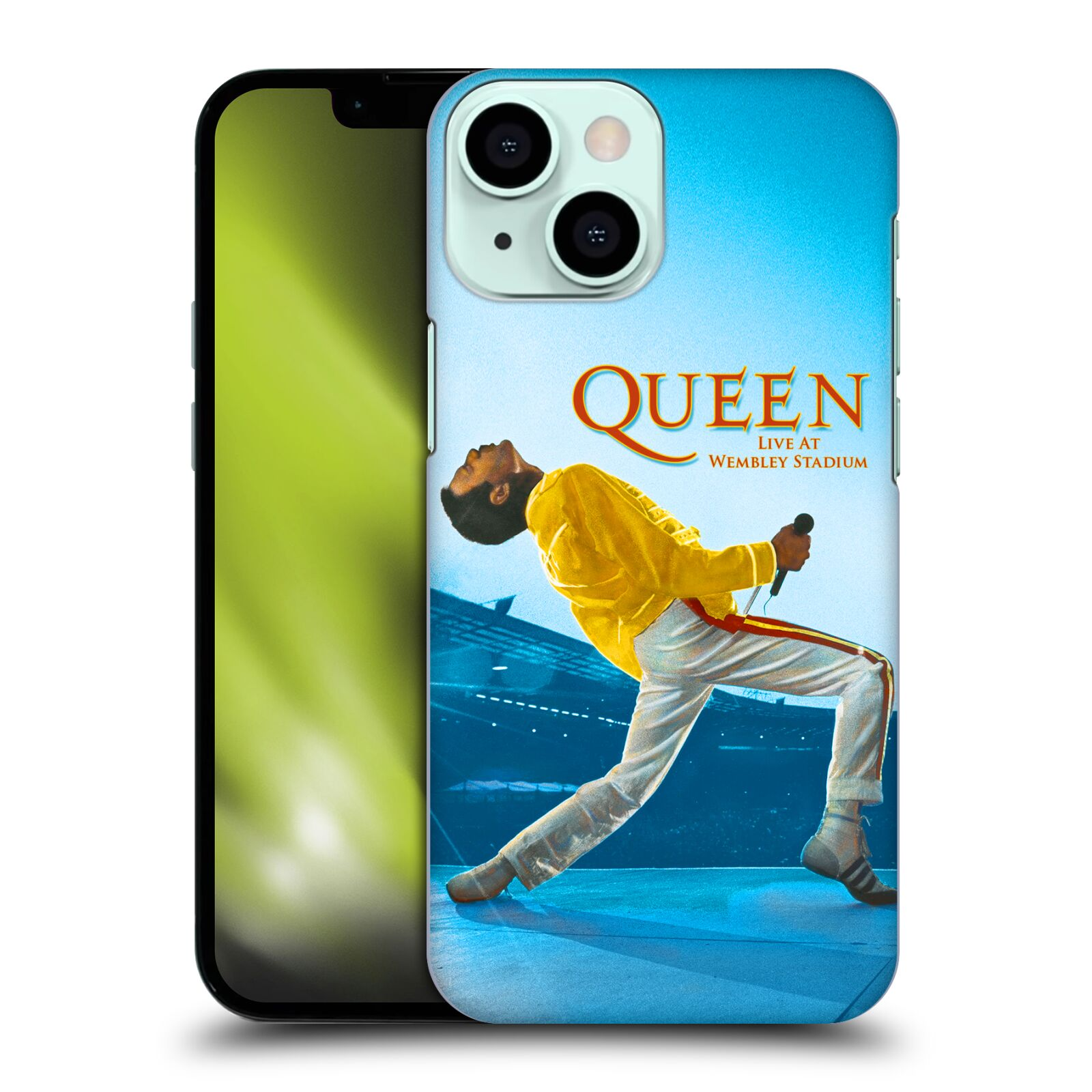 Plastové pouzdro na mobil Apple iPhone 13 Mini - Head Case - Queen - Freddie Mercury