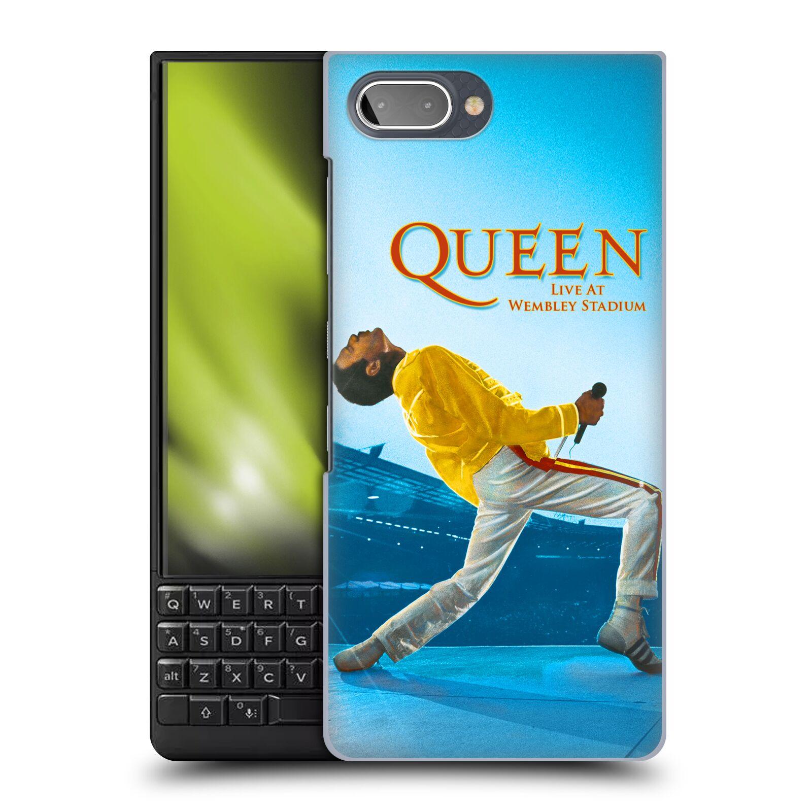 Plastové pouzdro na mobil Blackberry Key 2 - Head Case - Queen - Freddie Mercury